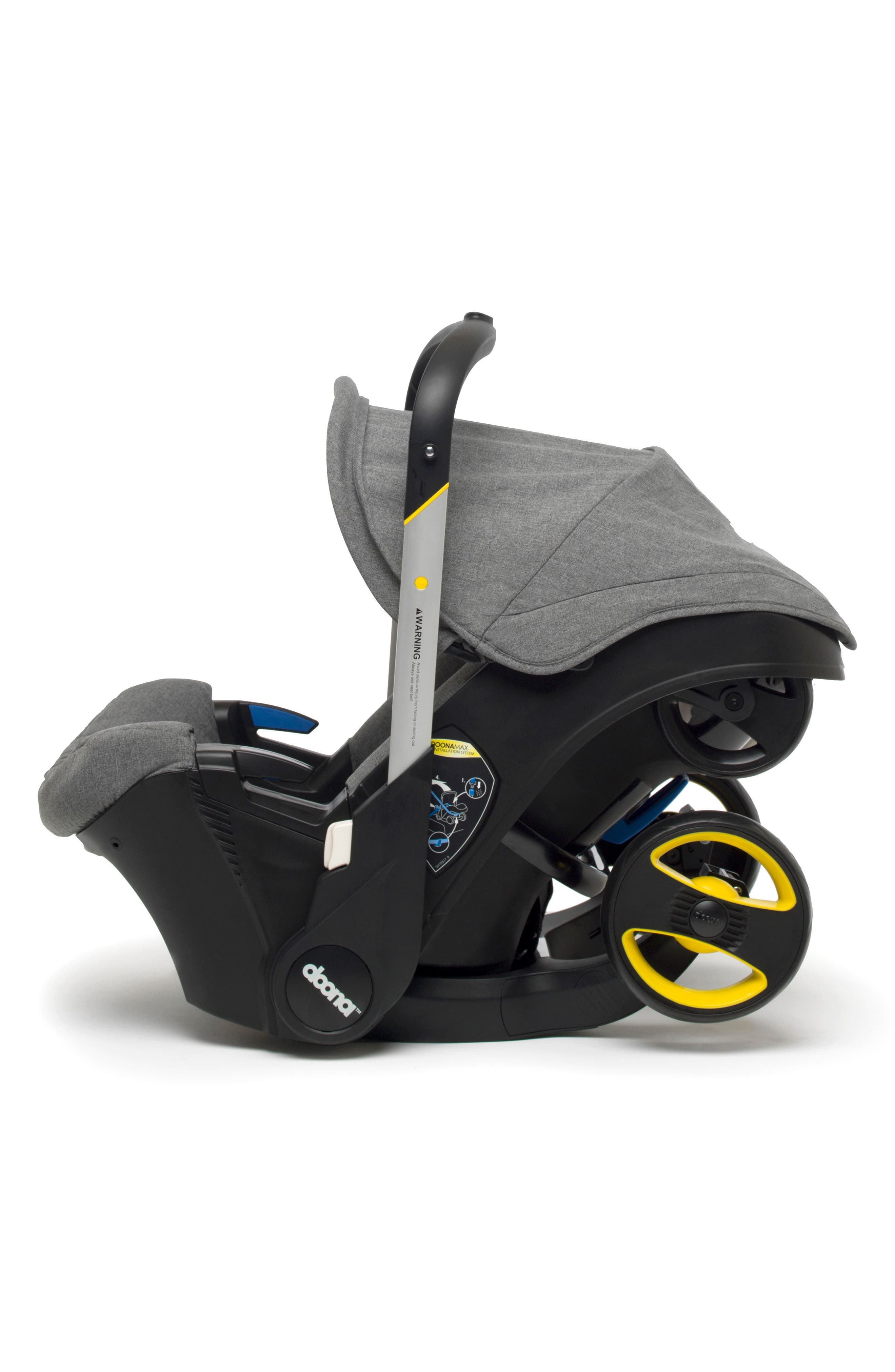 Convertible Infant Car Seat/Compact Stroller System,                         Main,                         color, GREY/ STORM