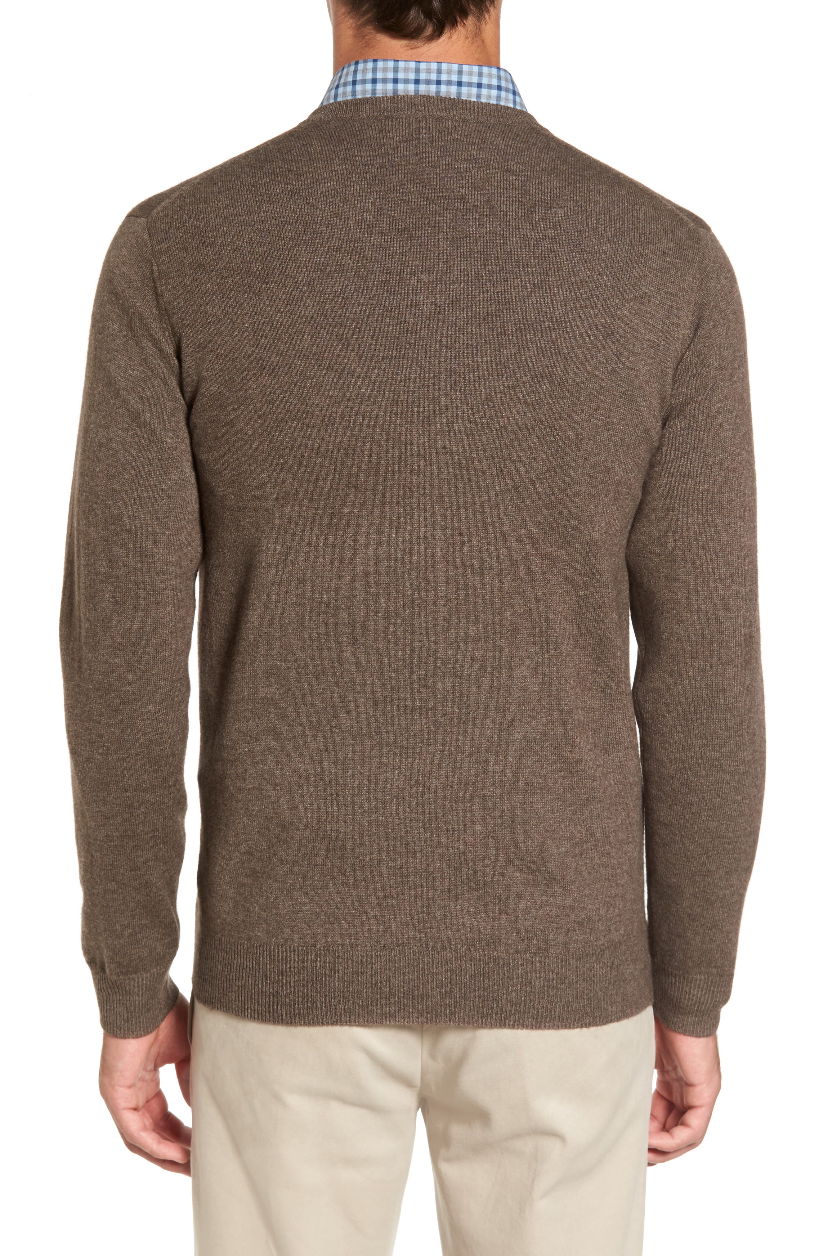 'Inchbonnie' Wool & Cashmere V-Neck Sweater,                             Alternate thumbnail 2, color,                             218