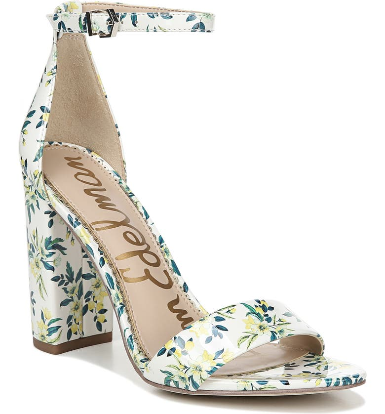 Check Prices Sam Edelman Yaro Ankle Strap Sandal (Women) Buy & Reviews