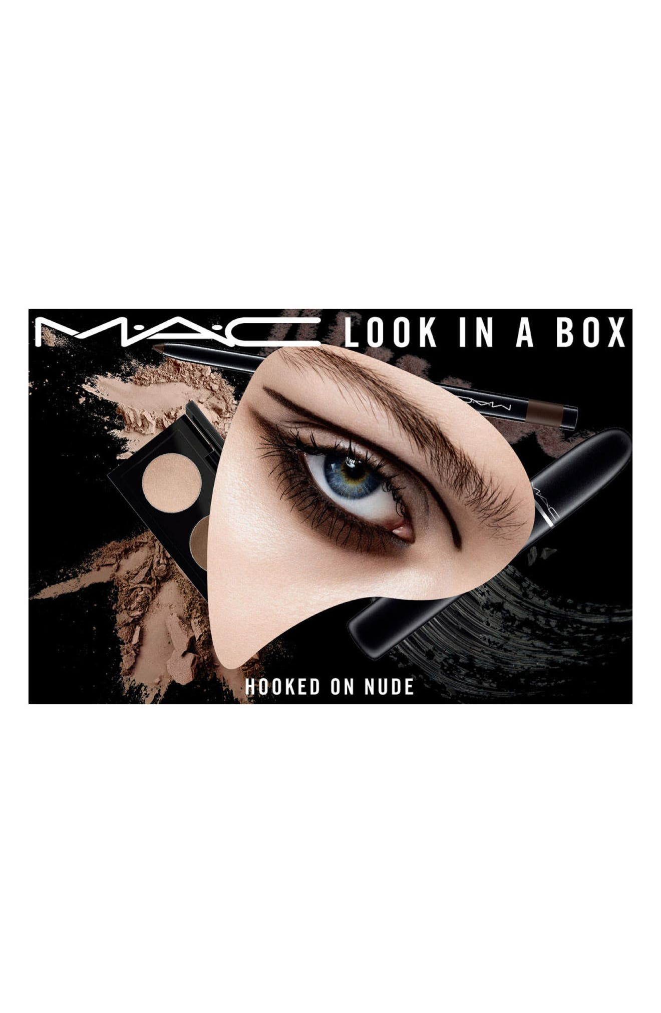 MAC COSMETICS,                             MAC Look in a Box Hooked On Nude Eye Kit,                             Alternate thumbnail 3, color,                             250