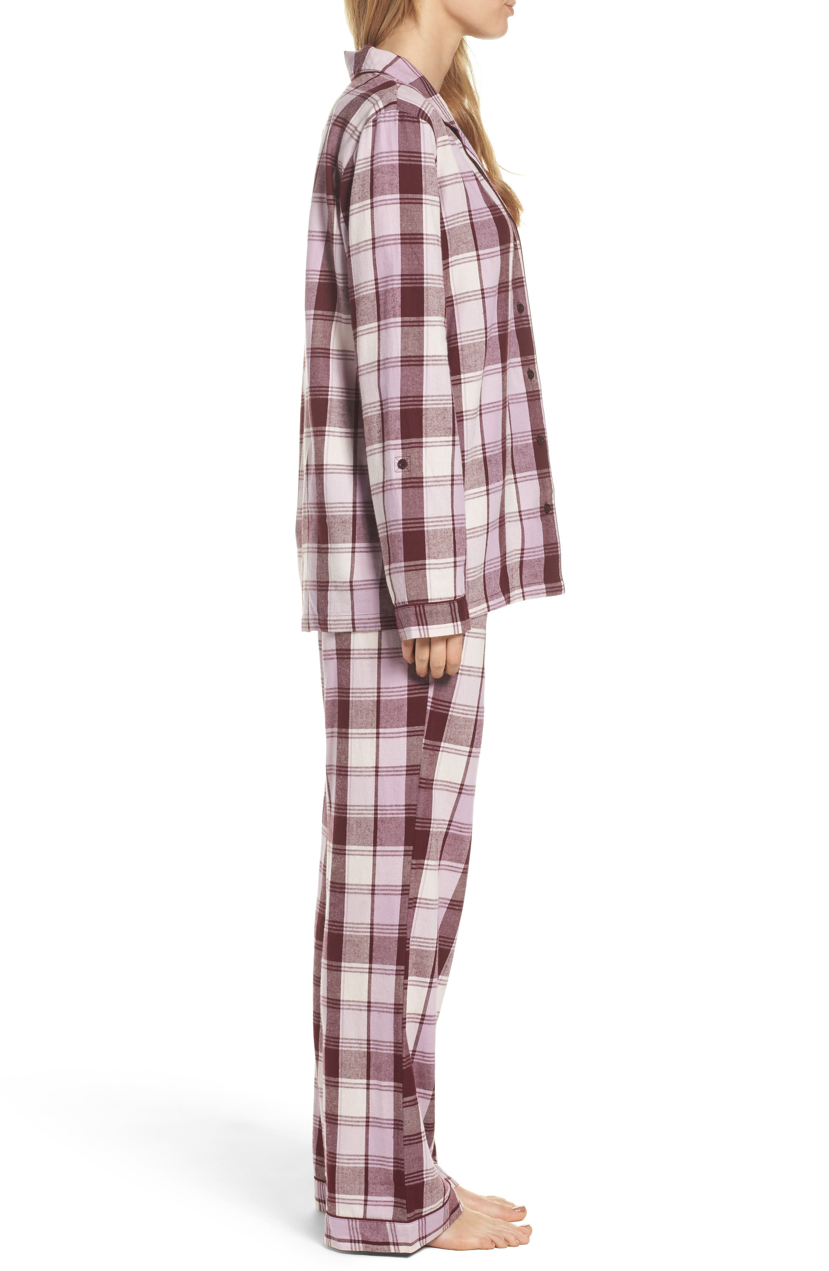 Cotton Twill Pajamas,                             Alternate thumbnail 22, color,