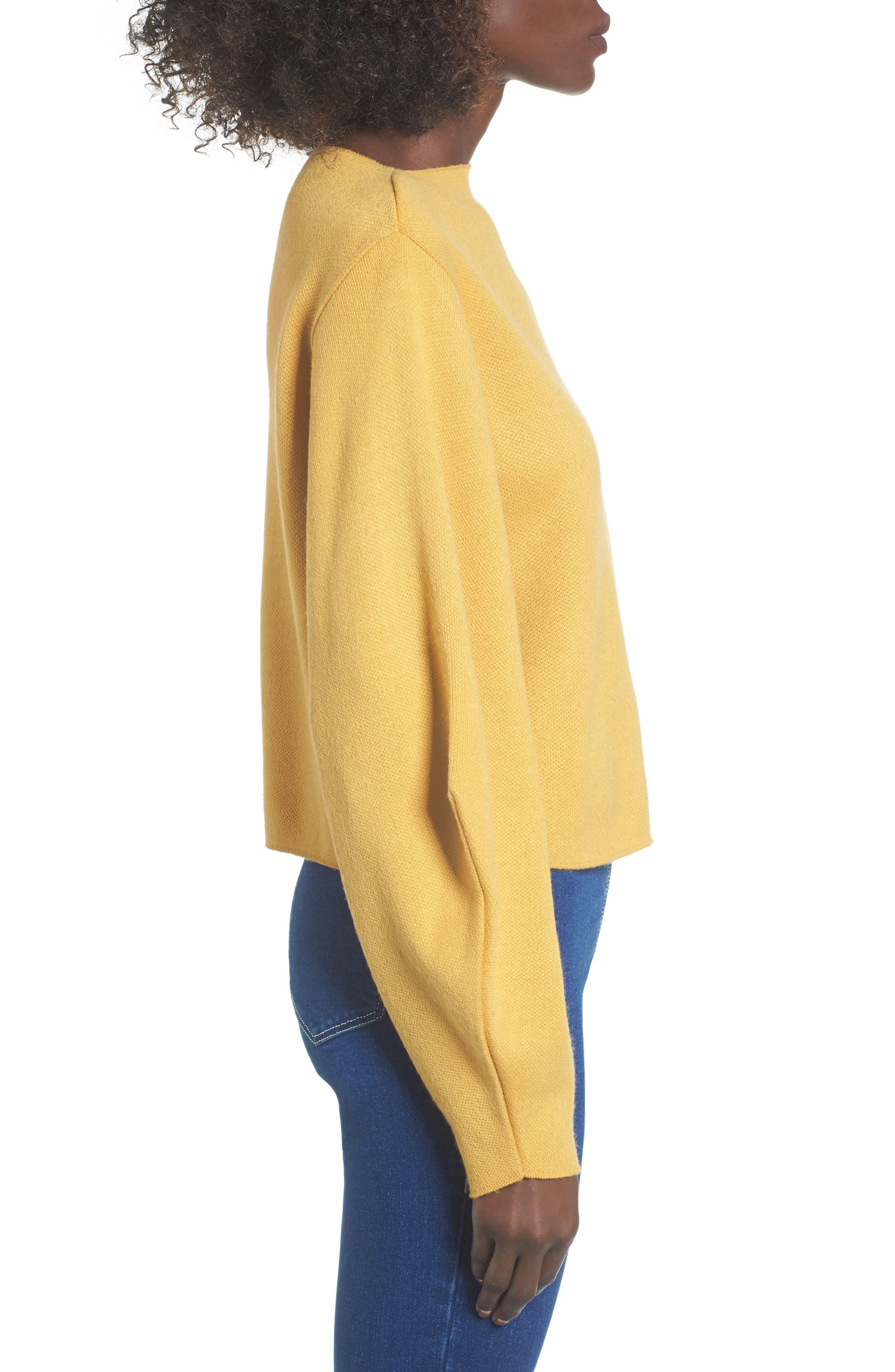 Balloon Sleeve Sweater,                             Alternate thumbnail 3, color,                             700