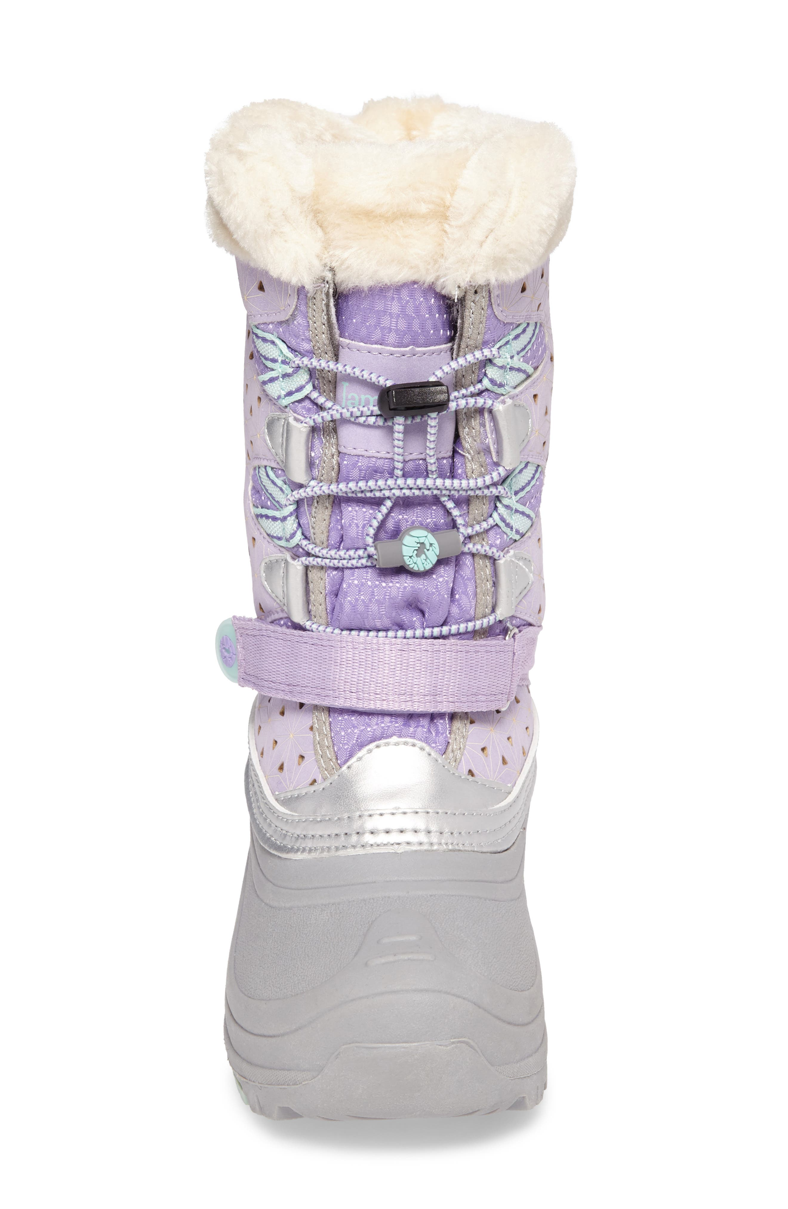 'Venom' Waterproof Insulated Snow Boot,                             Alternate thumbnail 8, color,