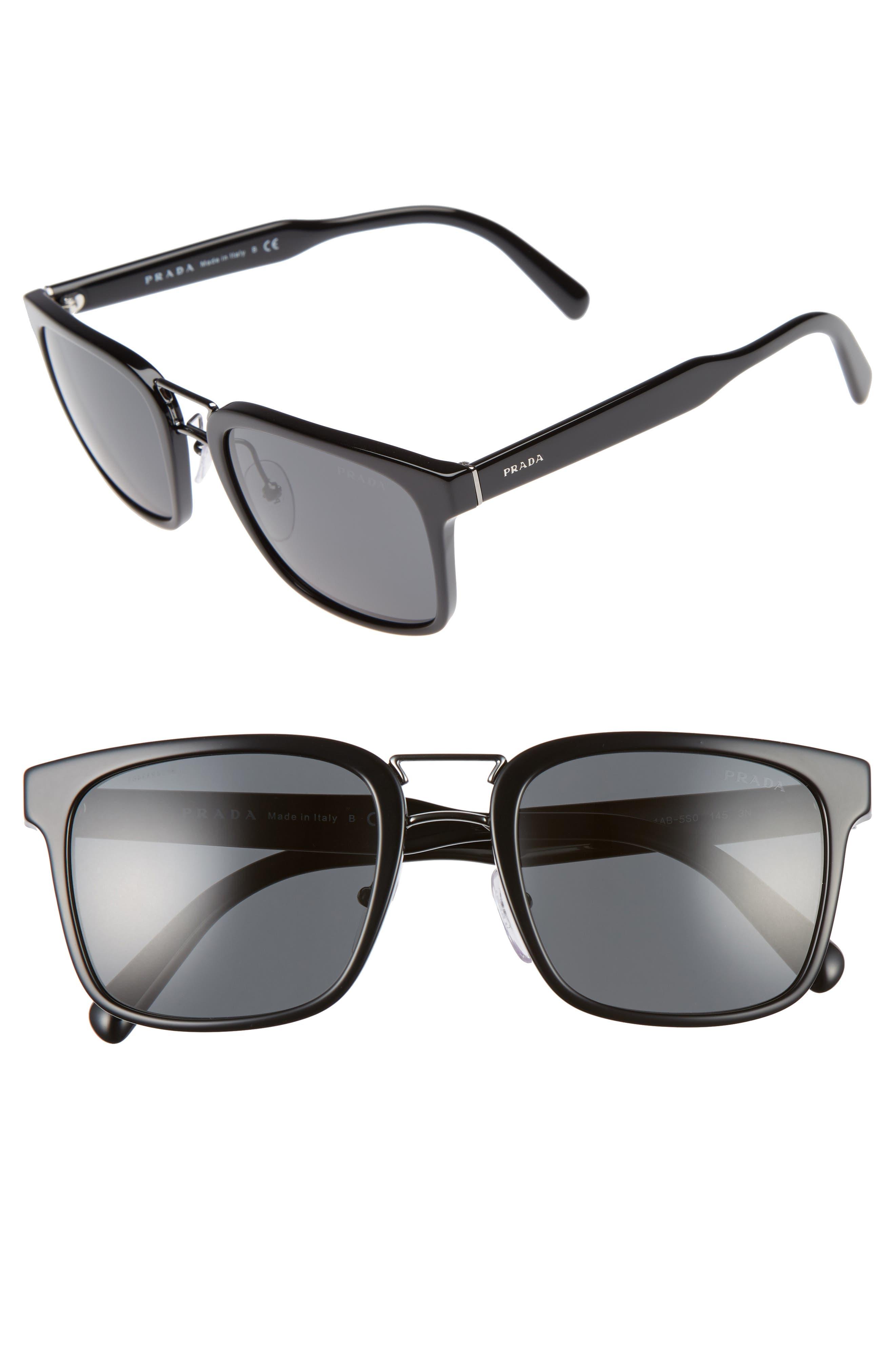 53mm Sunglasses,                         Main,                         color, 001