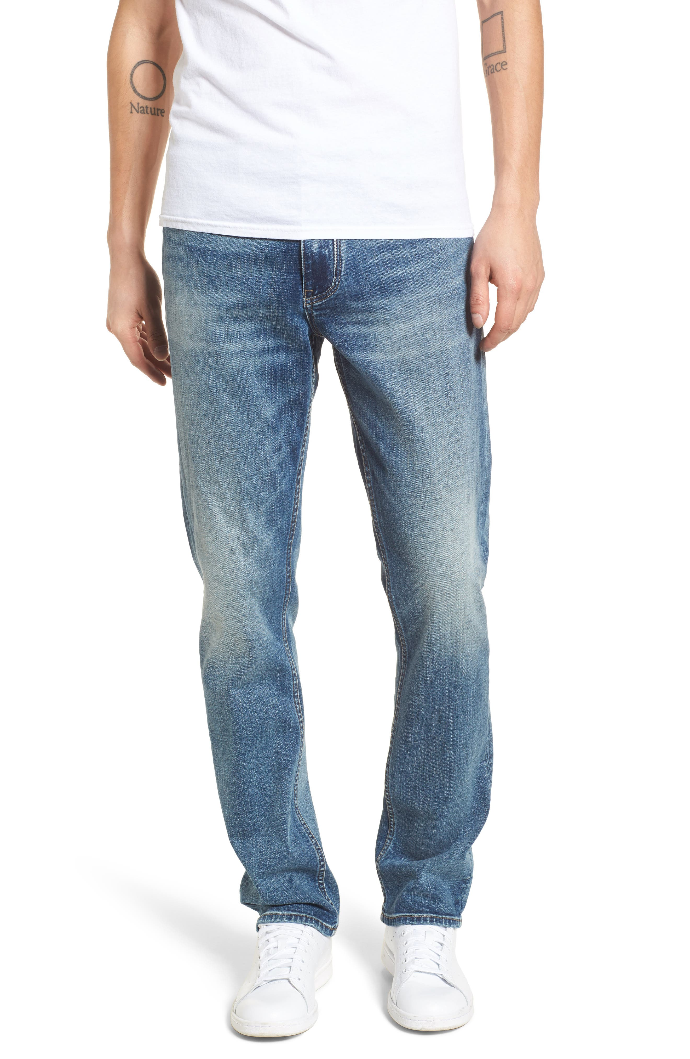 Wooster Slim Fit Jeans,                         Main,                         color, 400