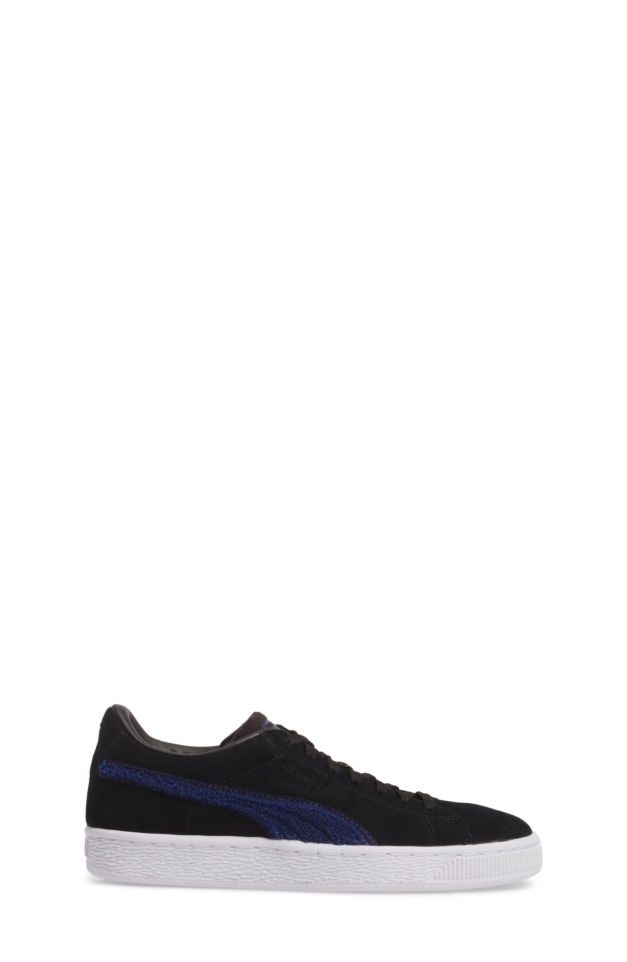 Classic Terry Jr Sneaker,                             Alternate thumbnail 3, color,                             001