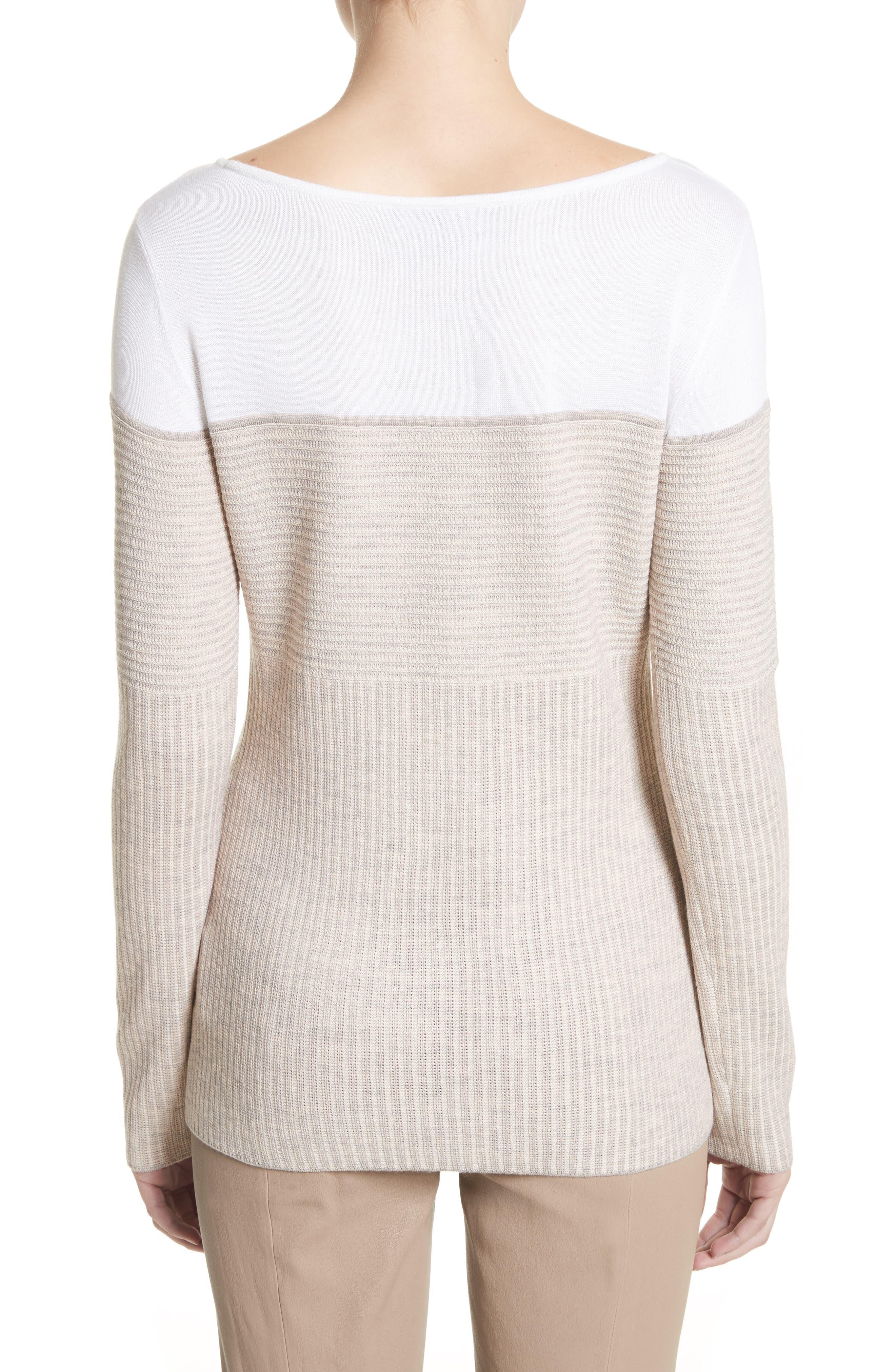 Tech Rib Knit Sweater,                             Alternate thumbnail 2, color,                             200