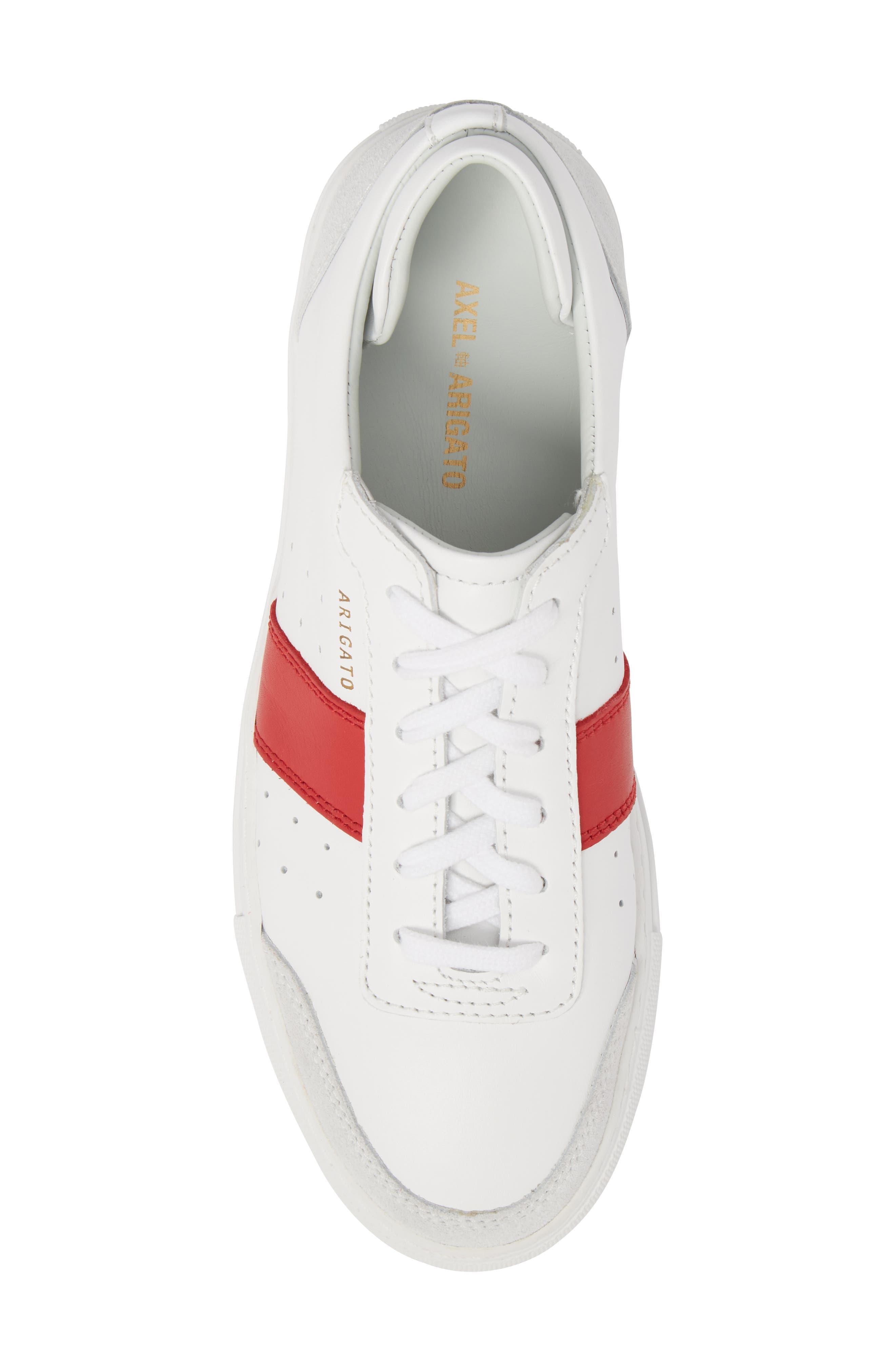 Dunk Striped Sneaker,                             Alternate thumbnail 5, color,