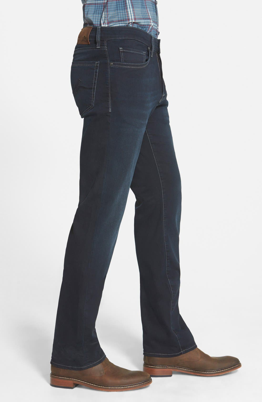 'Charisma' Classic Relaxed Fit Jeans,                             Alternate thumbnail 3, color,                             MIDNIGHT AUSTIN