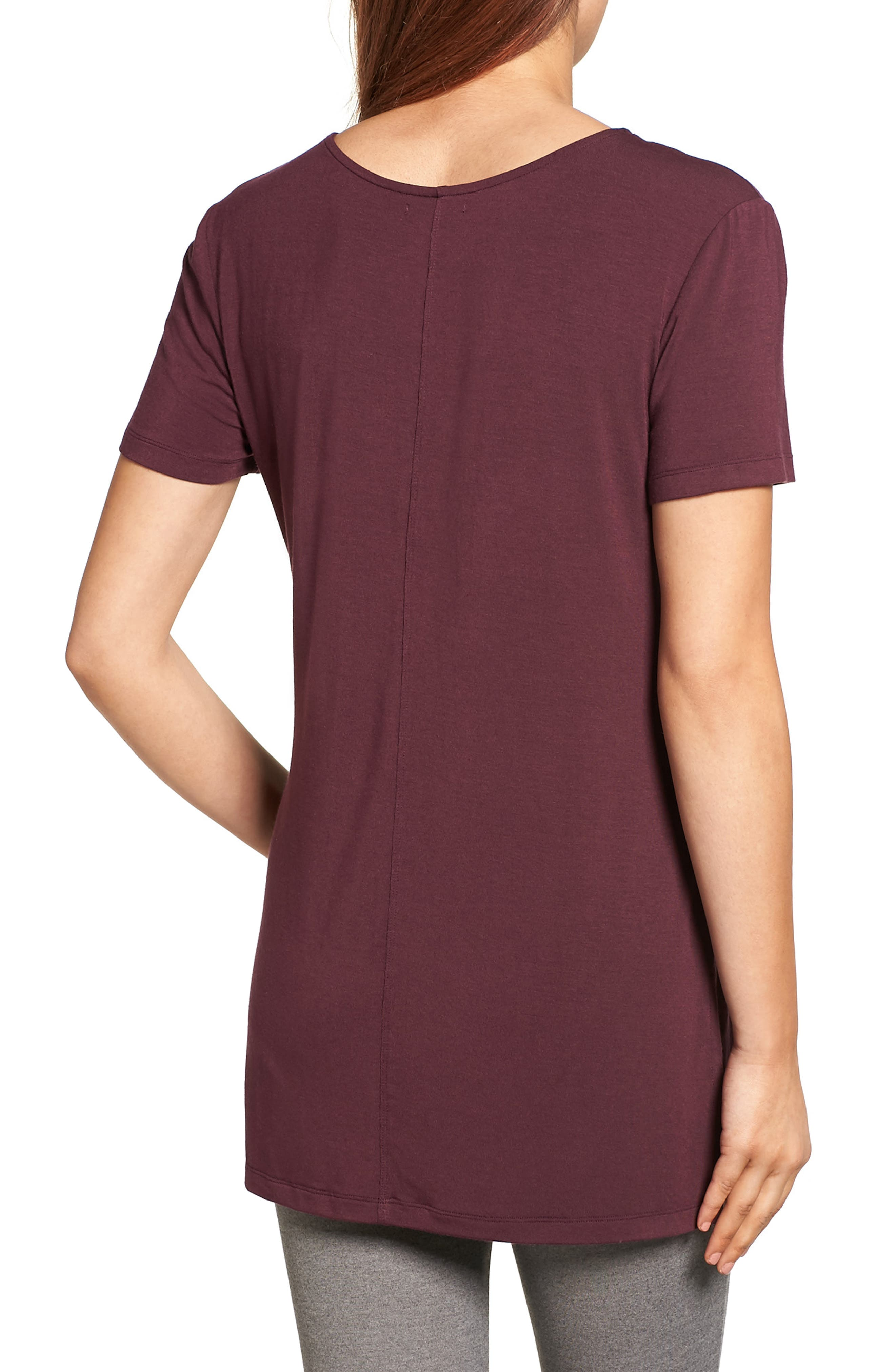 V-Neck Tunic Tee,                             Alternate thumbnail 24, color,