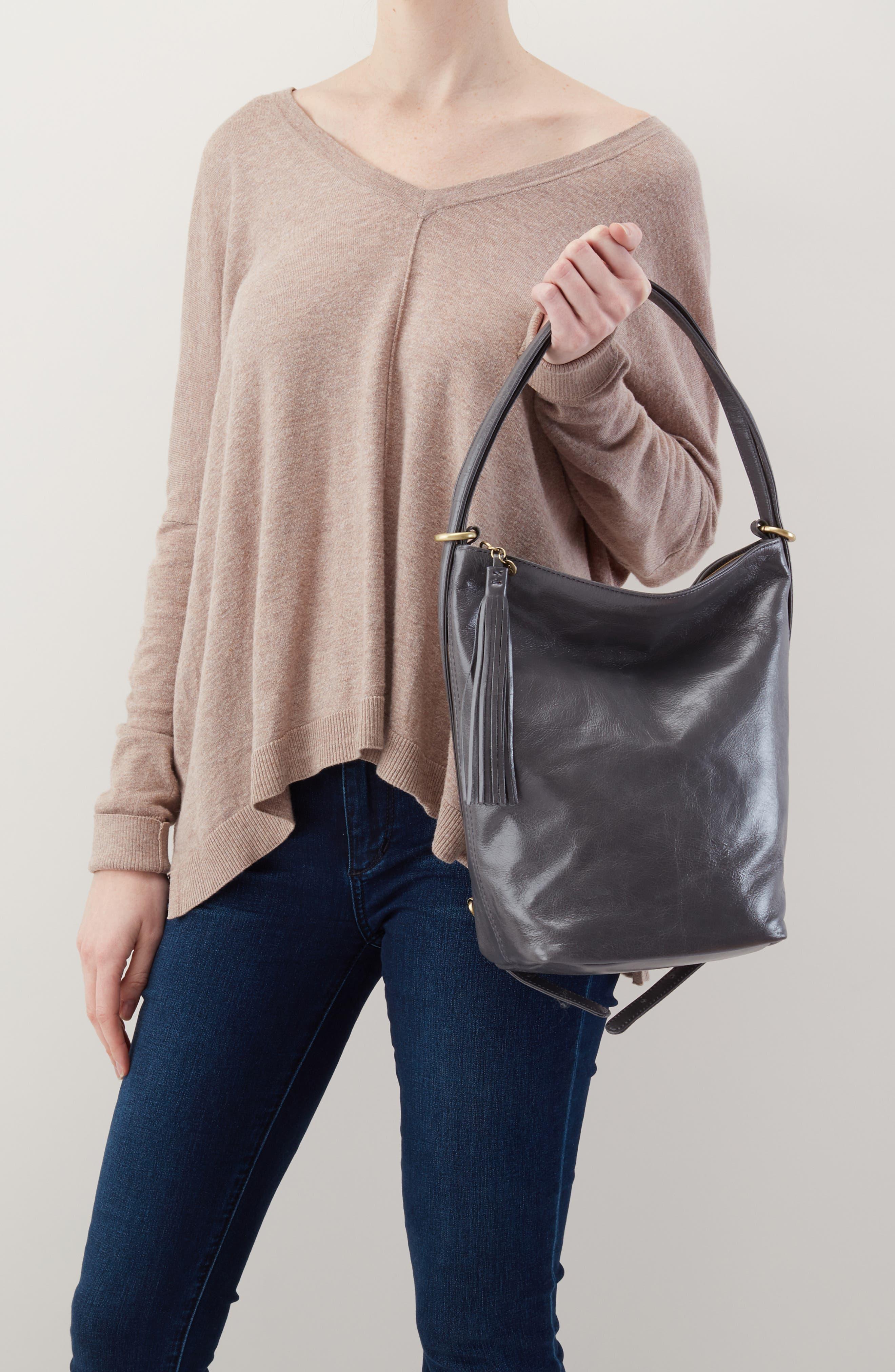 Blaze Convertible Shoulder Bag,                             Alternate thumbnail 2, color,                             GRAPHITE