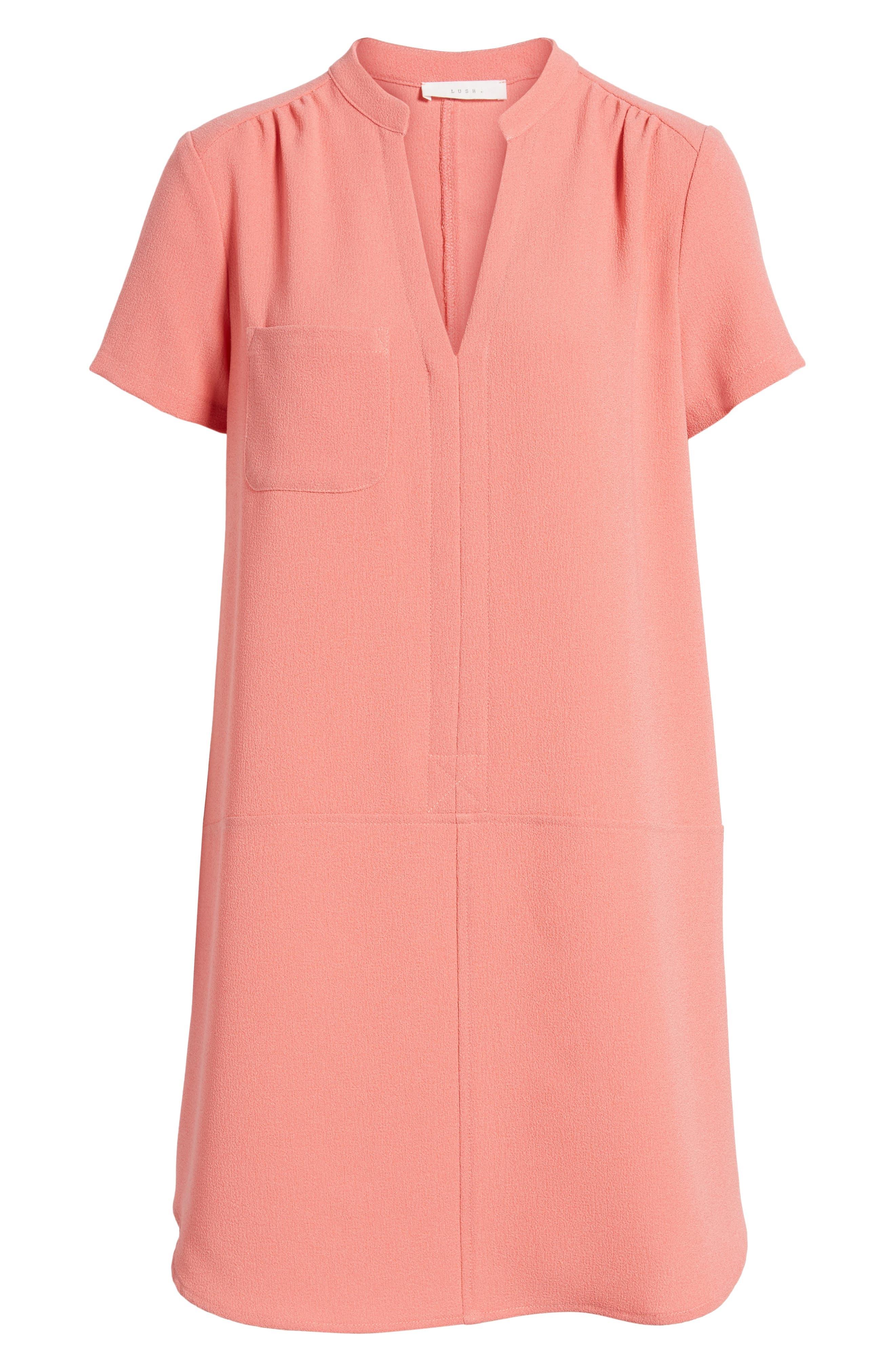 Hailey Crepe Dress,                             Alternate thumbnail 160, color,
