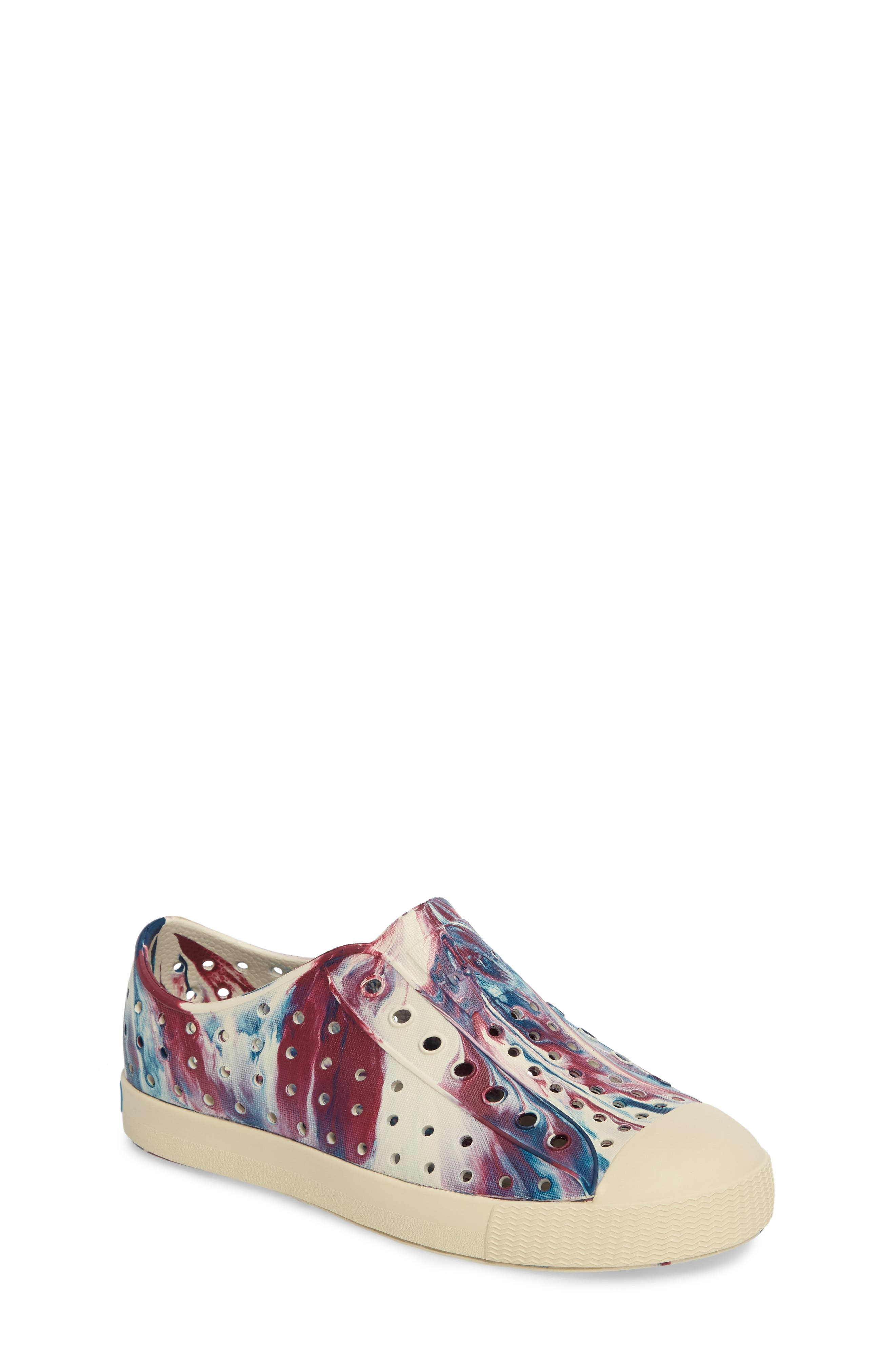 Jefferson - Marbled Perforated Slip-On,                             Main thumbnail 13, color,