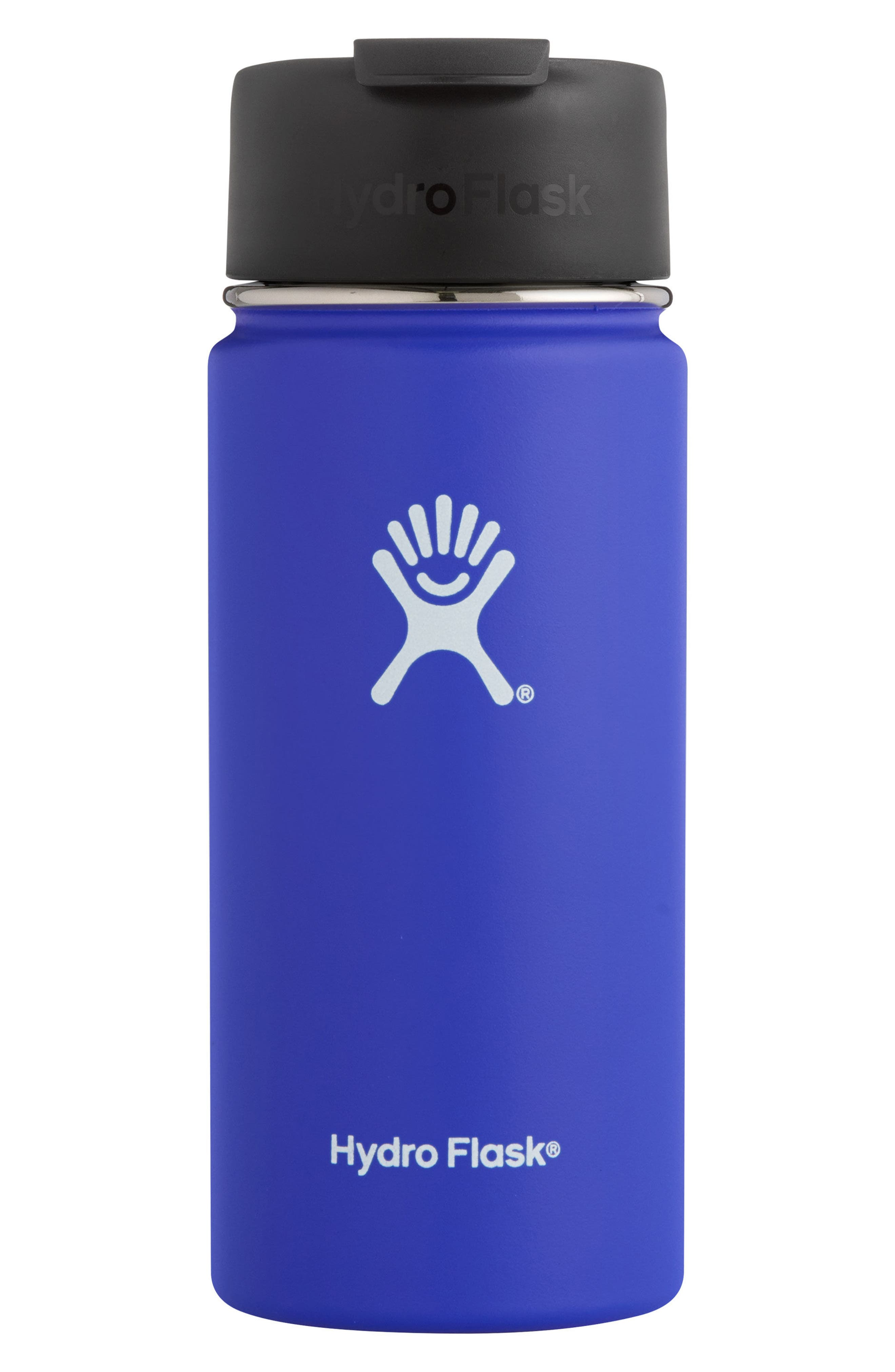 16-Ounce Wide Mouth Coffee Thermos,                             Alternate thumbnail 2, color,                             COBALT