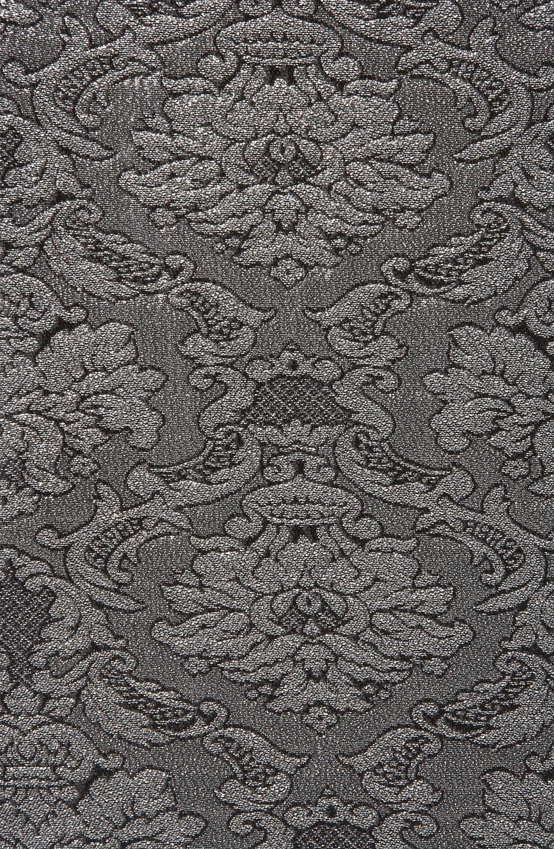 Brocade Cutout Dress,                             Alternate thumbnail 2, color,