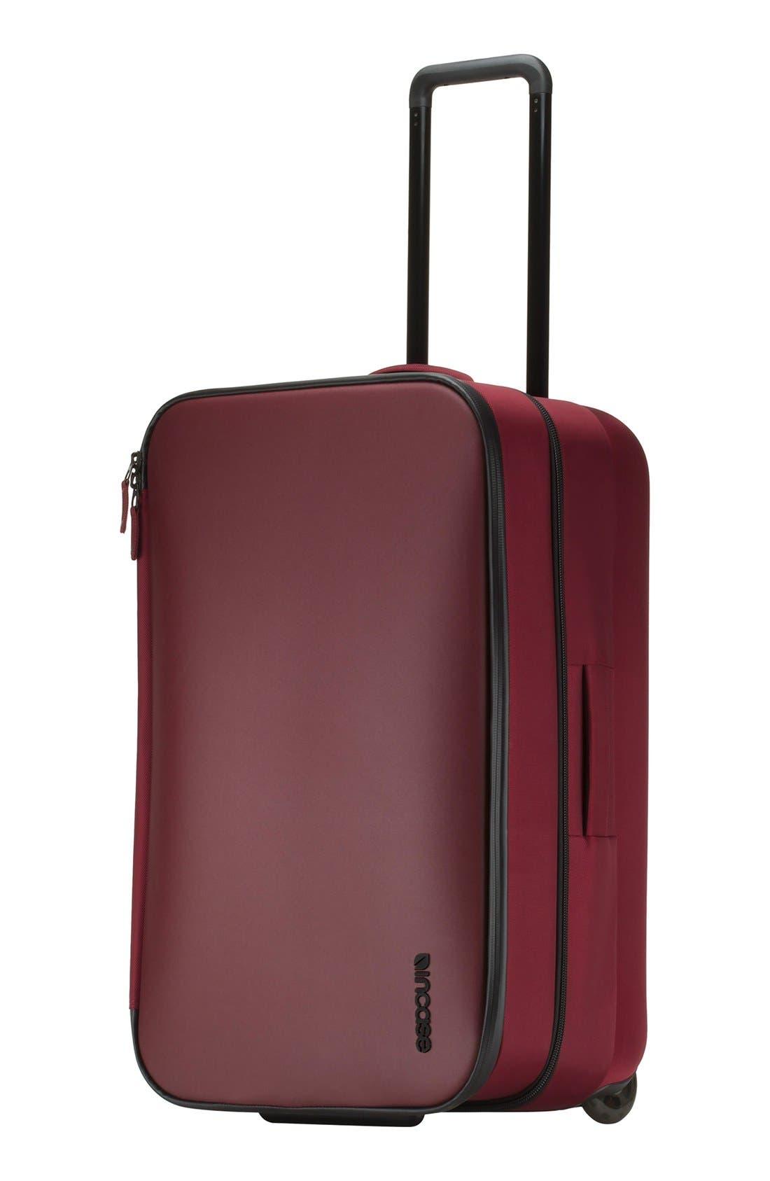 VIA 34 Inch Wheeled Suitcase,                             Alternate thumbnail 12, color,