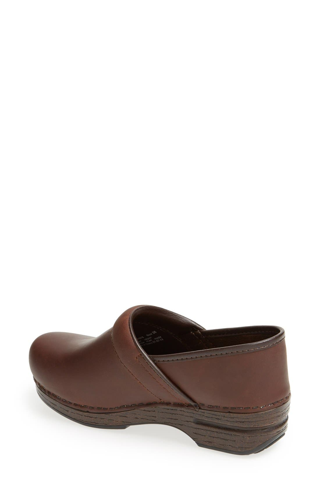 'Pro XP' Clog,                             Alternate thumbnail 2, color,                             BROWN OILED
