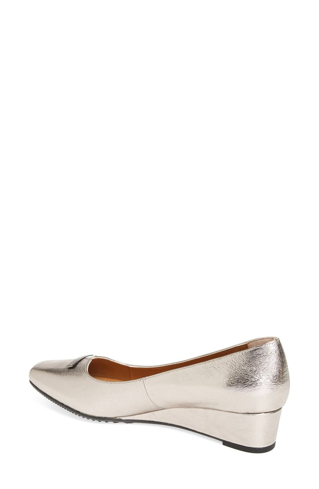 Yarall Square Toe Wedge,                             Alternate thumbnail 4, color,
