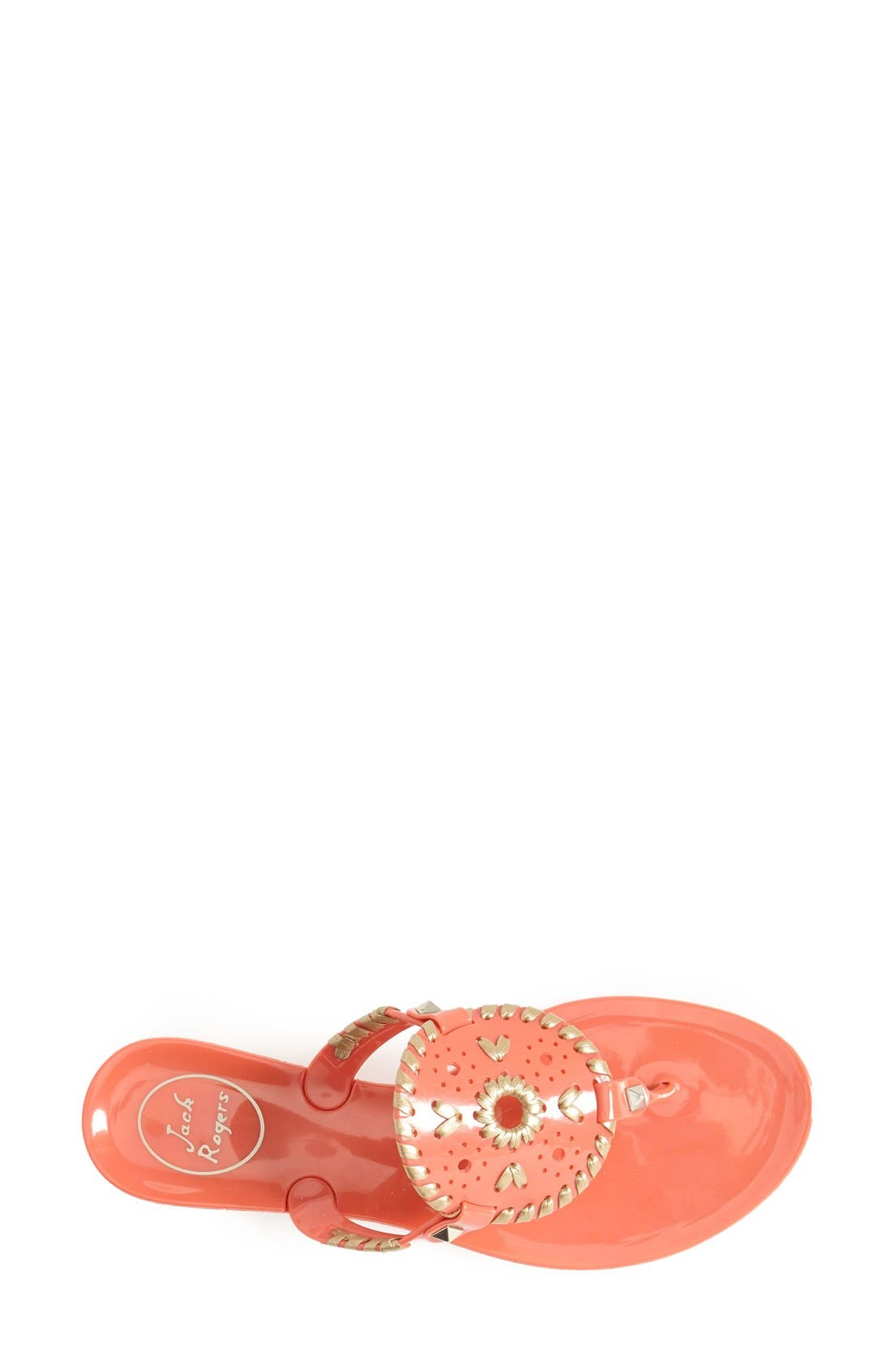 'Georgica' Jelly Flip Flop,                             Alternate thumbnail 161, color,