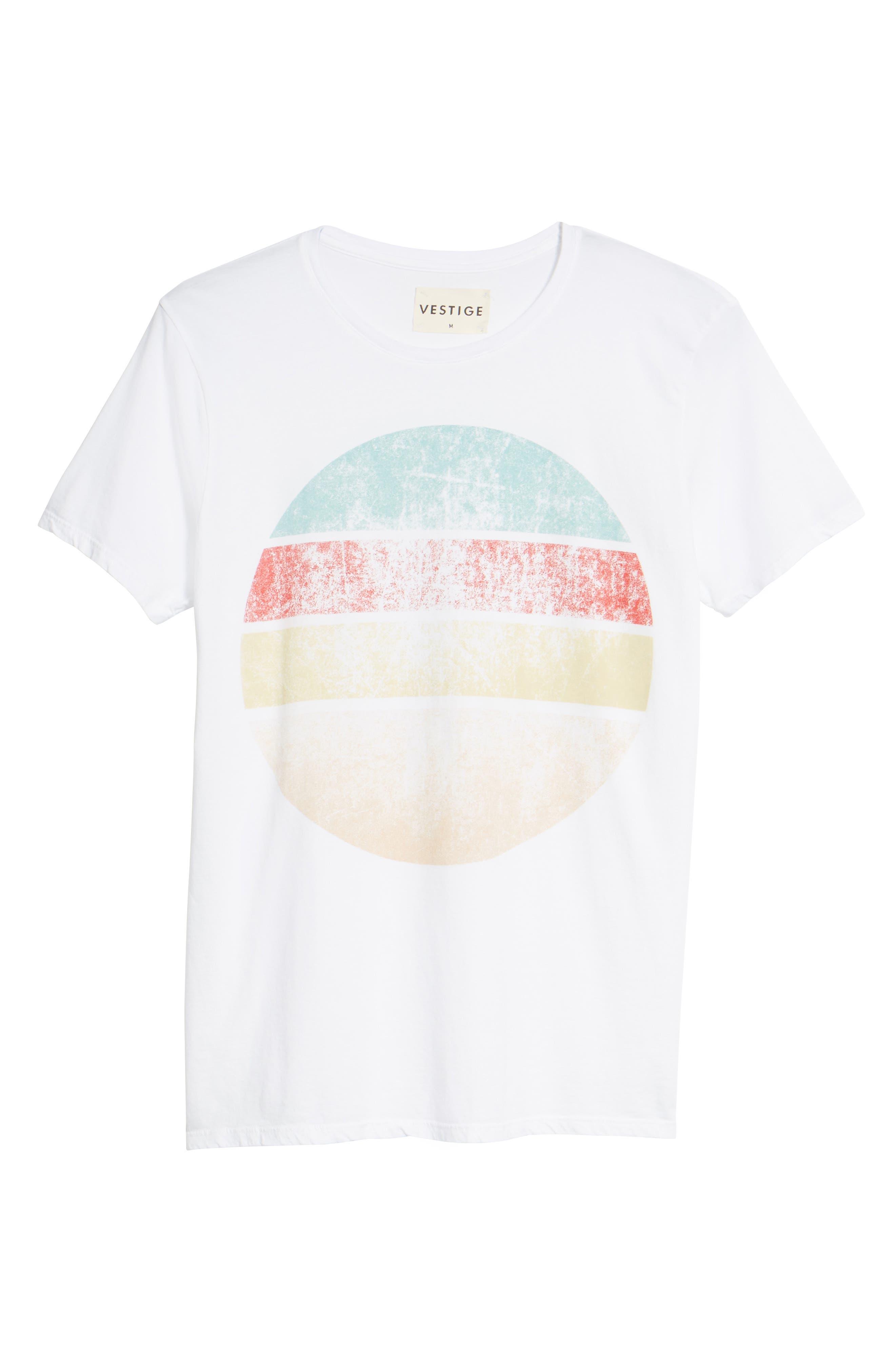 Western Sun T-Shirt,                             Alternate thumbnail 6, color,                             100