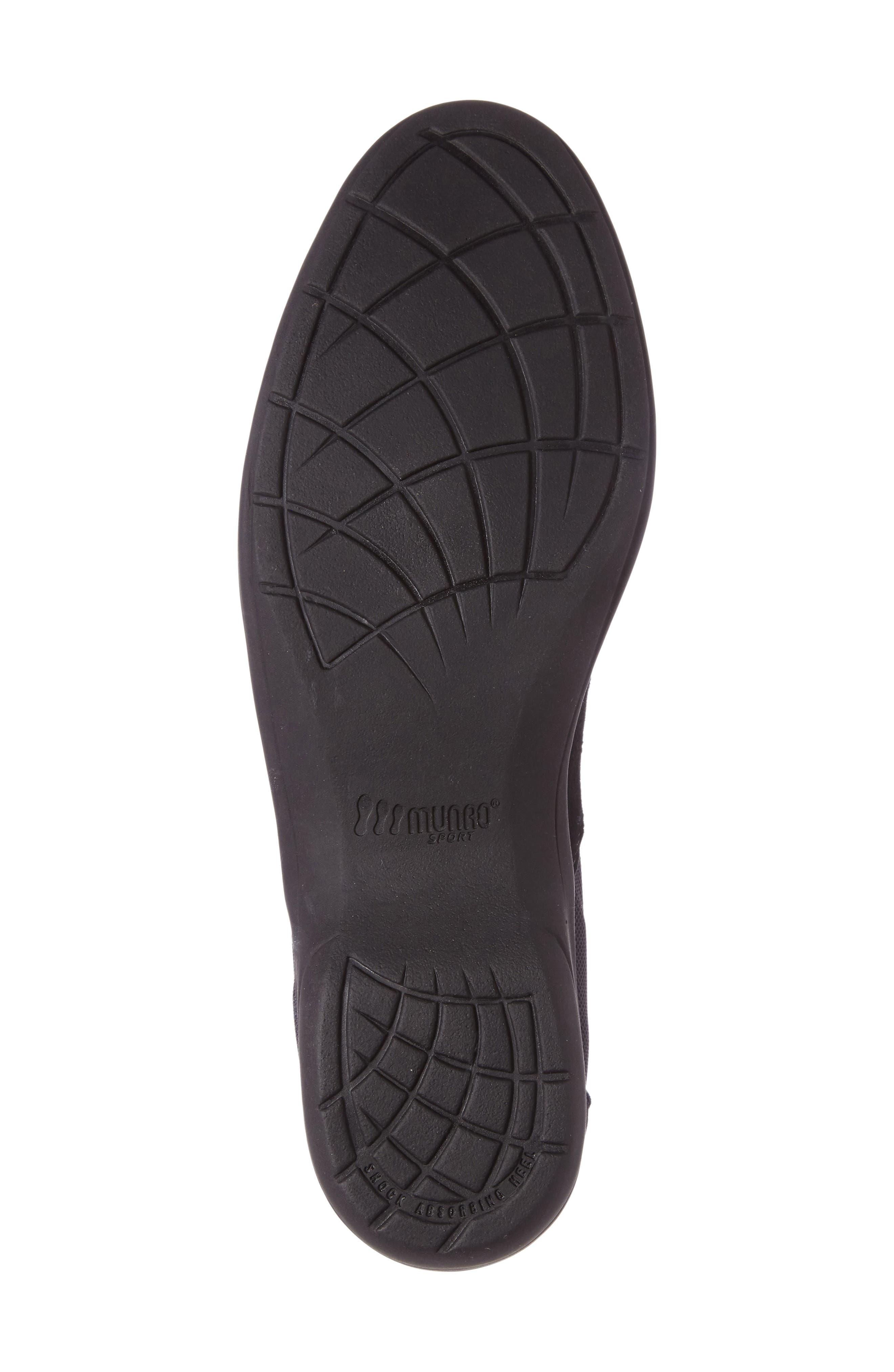 Joliet Sneaker,                             Alternate thumbnail 4, color,                             BLACK FABRIC