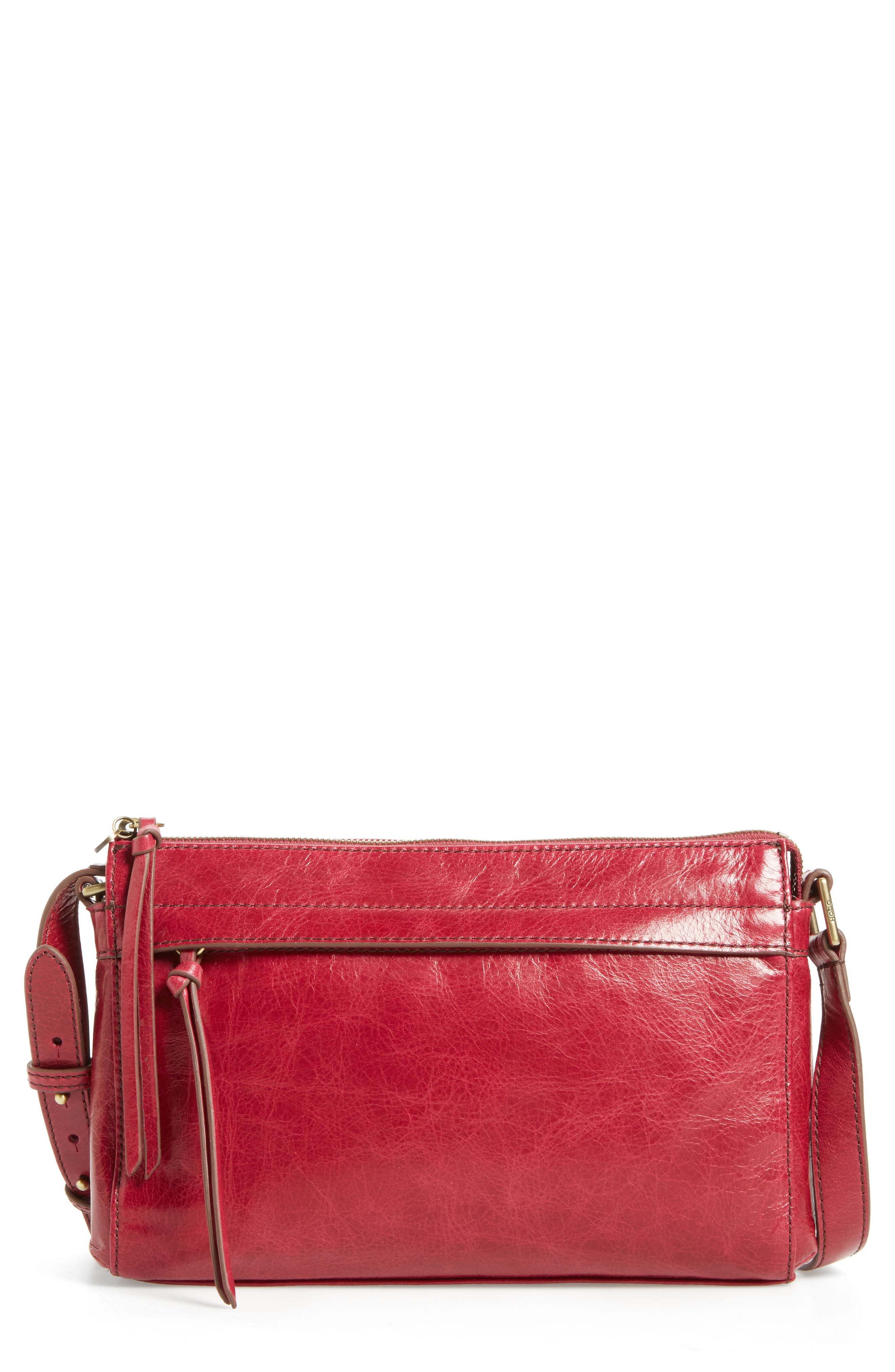 Tobey Leather Crossbody Bag,                             Alternate thumbnail 16, color,