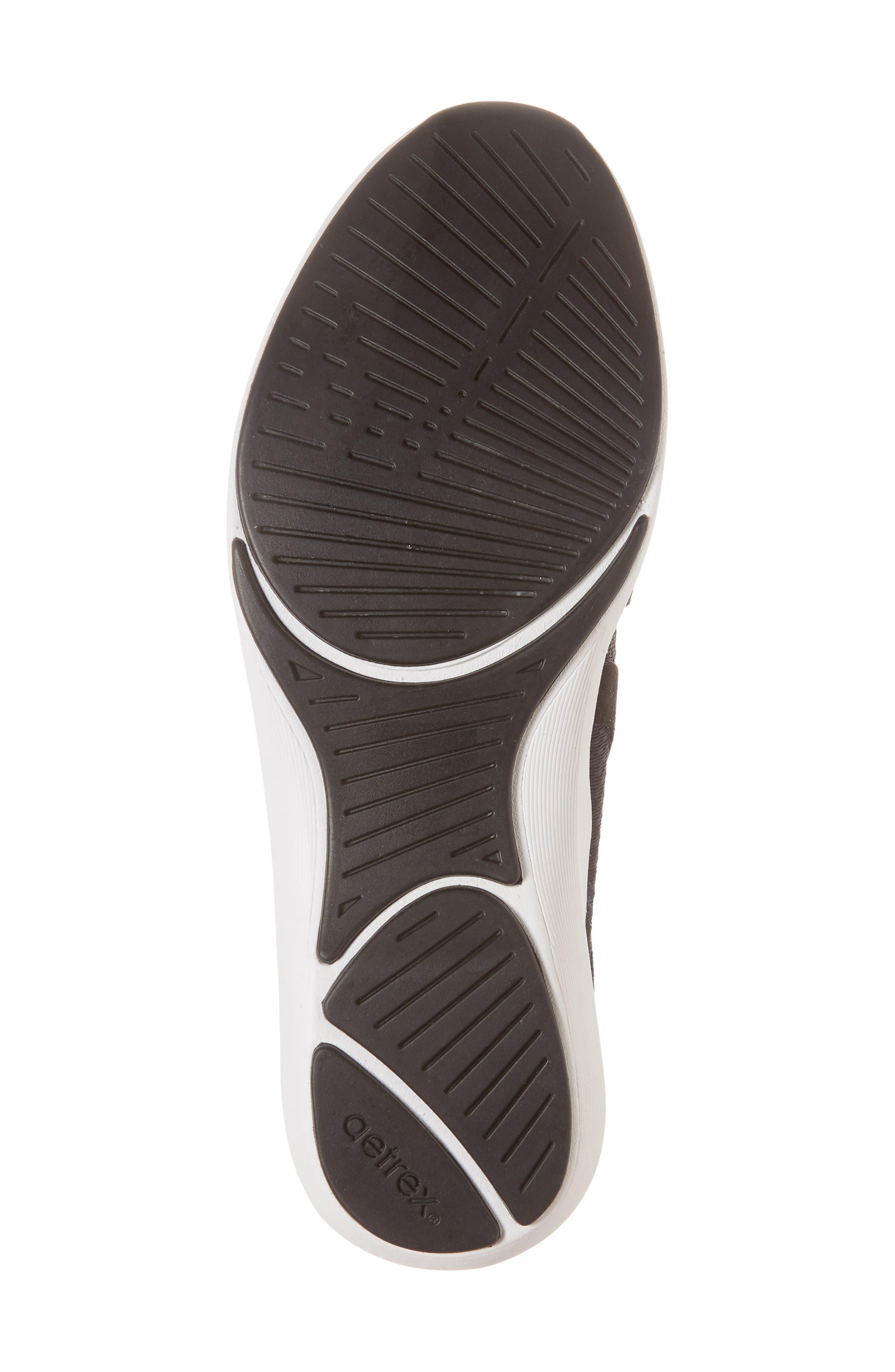 Sloane Sneaker,                             Alternate thumbnail 6, color,                             BLACK FABRIC