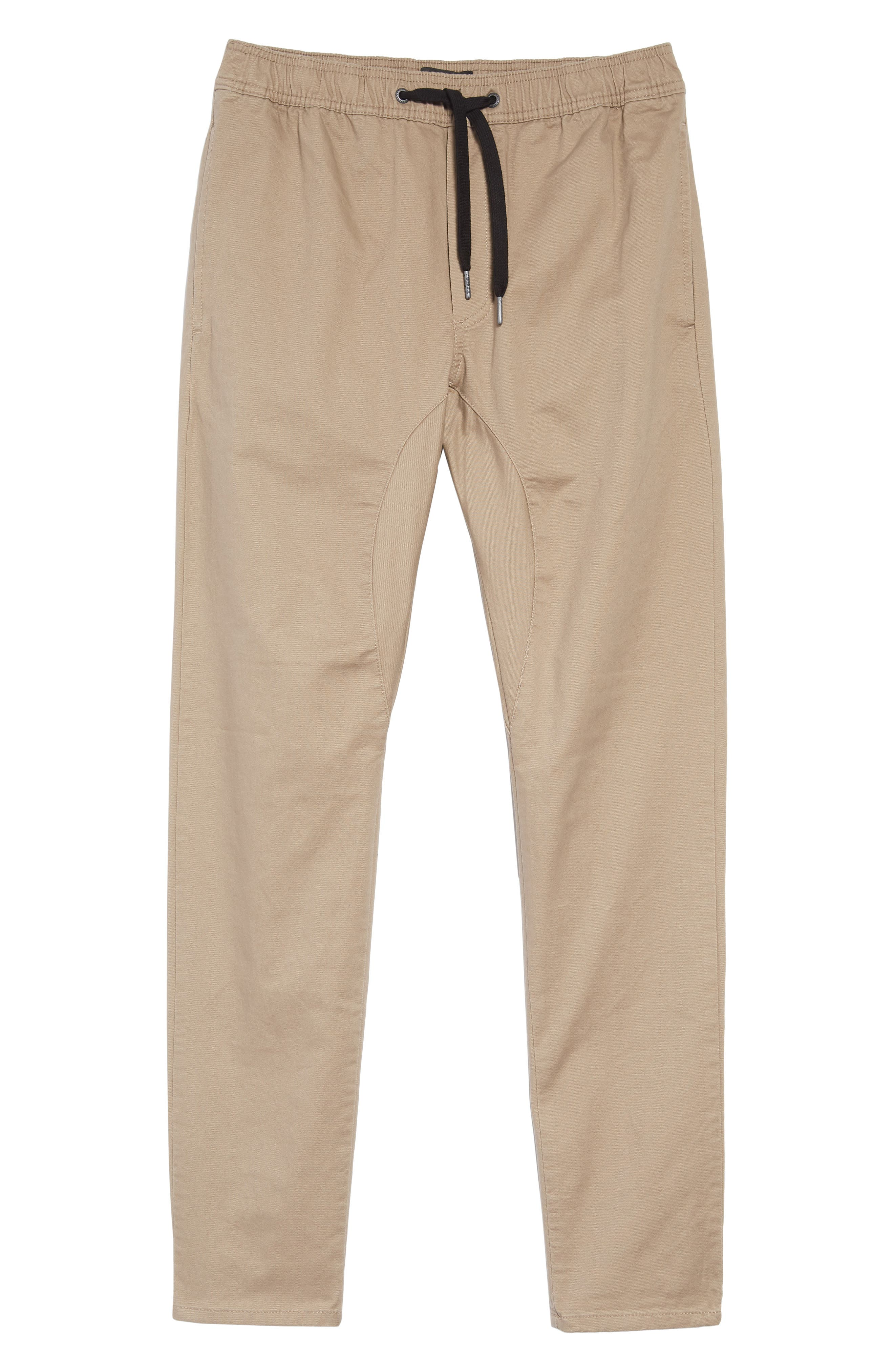 'Salerno' Chino Jogger Pants,                             Alternate thumbnail 2, color,                             TAN