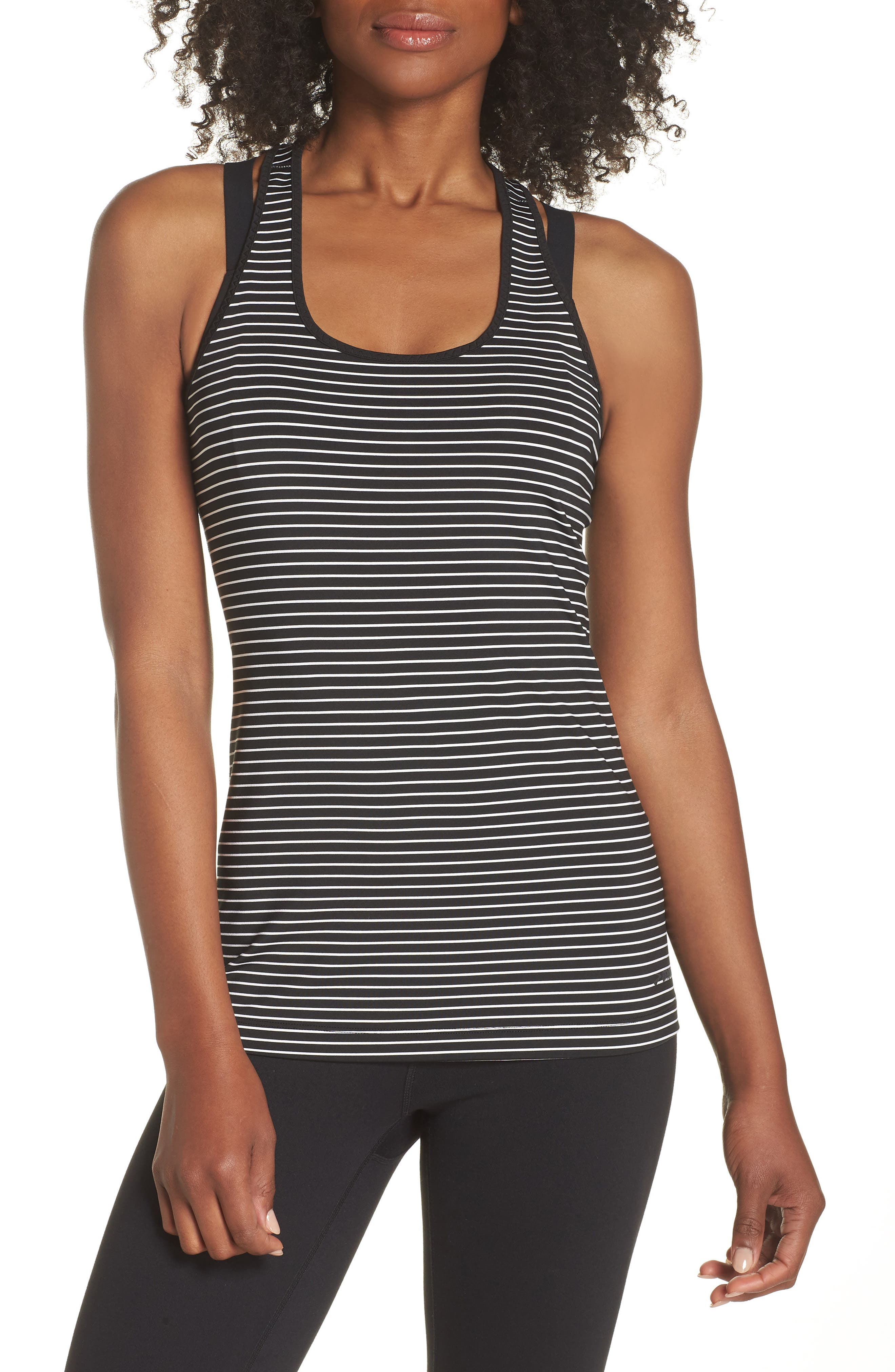 'Go-To' Racerback Tank,                             Main thumbnail 1, color,                             120