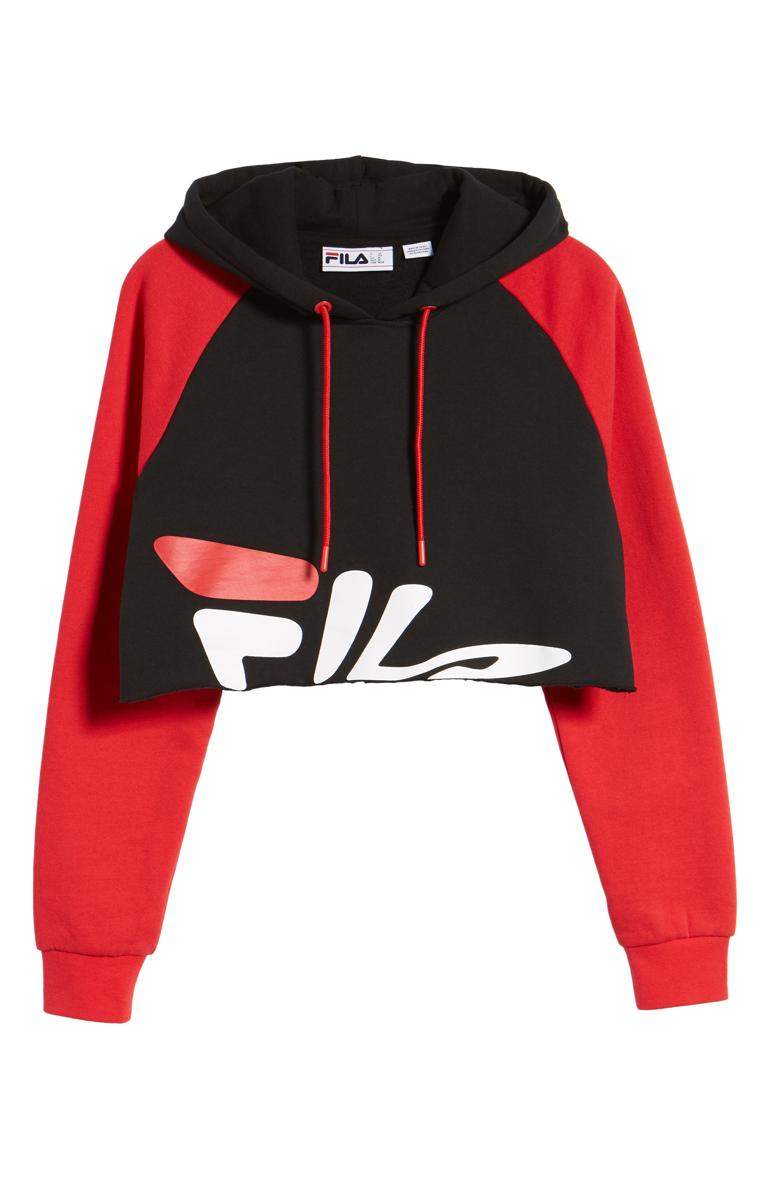Amber Crop Hoodie,                             Alternate thumbnail 7, color,                             002