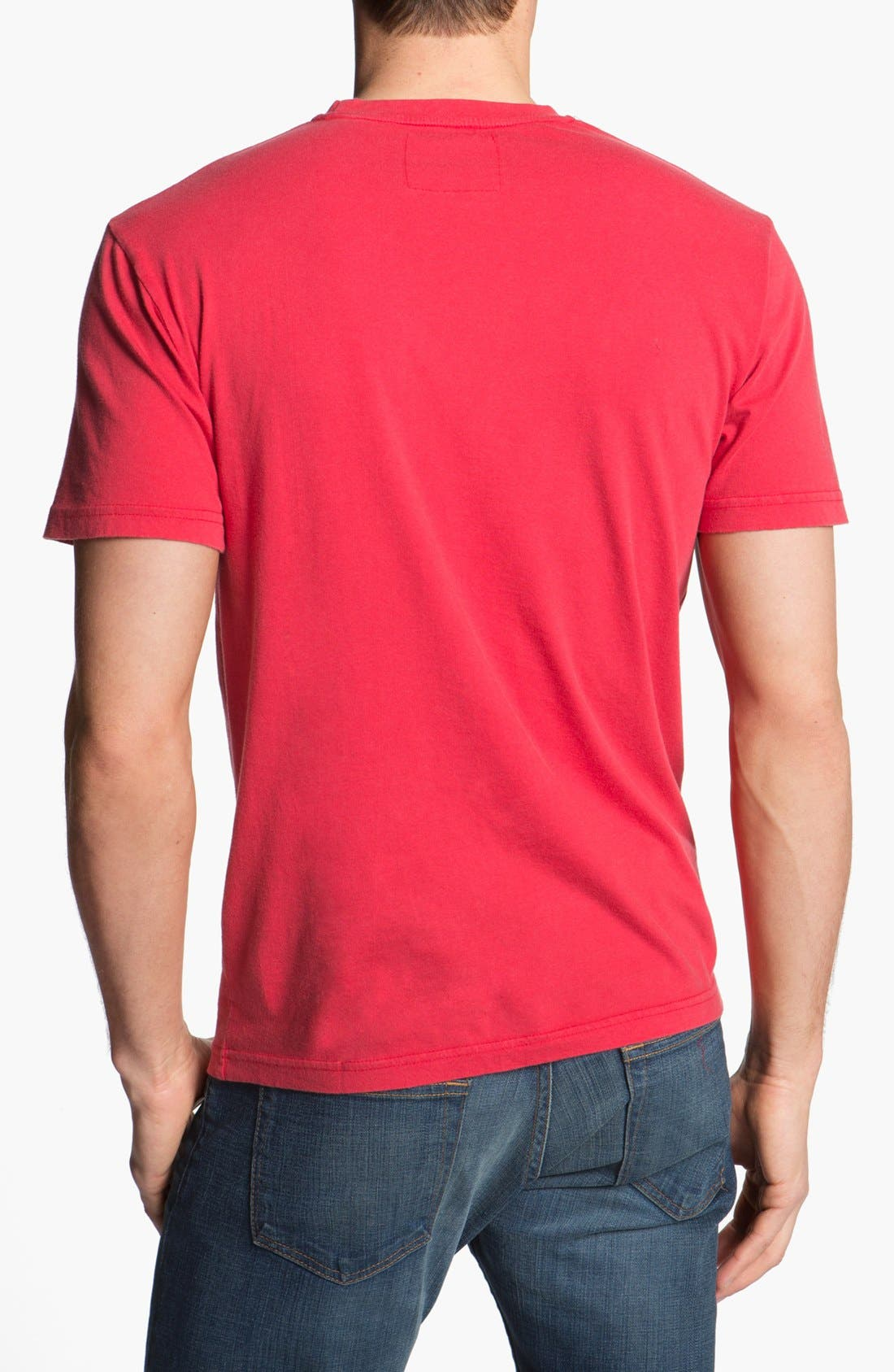 'Texas Rangers' Regular Fit Crewneck T-Shirt,                             Alternate thumbnail 135, color,