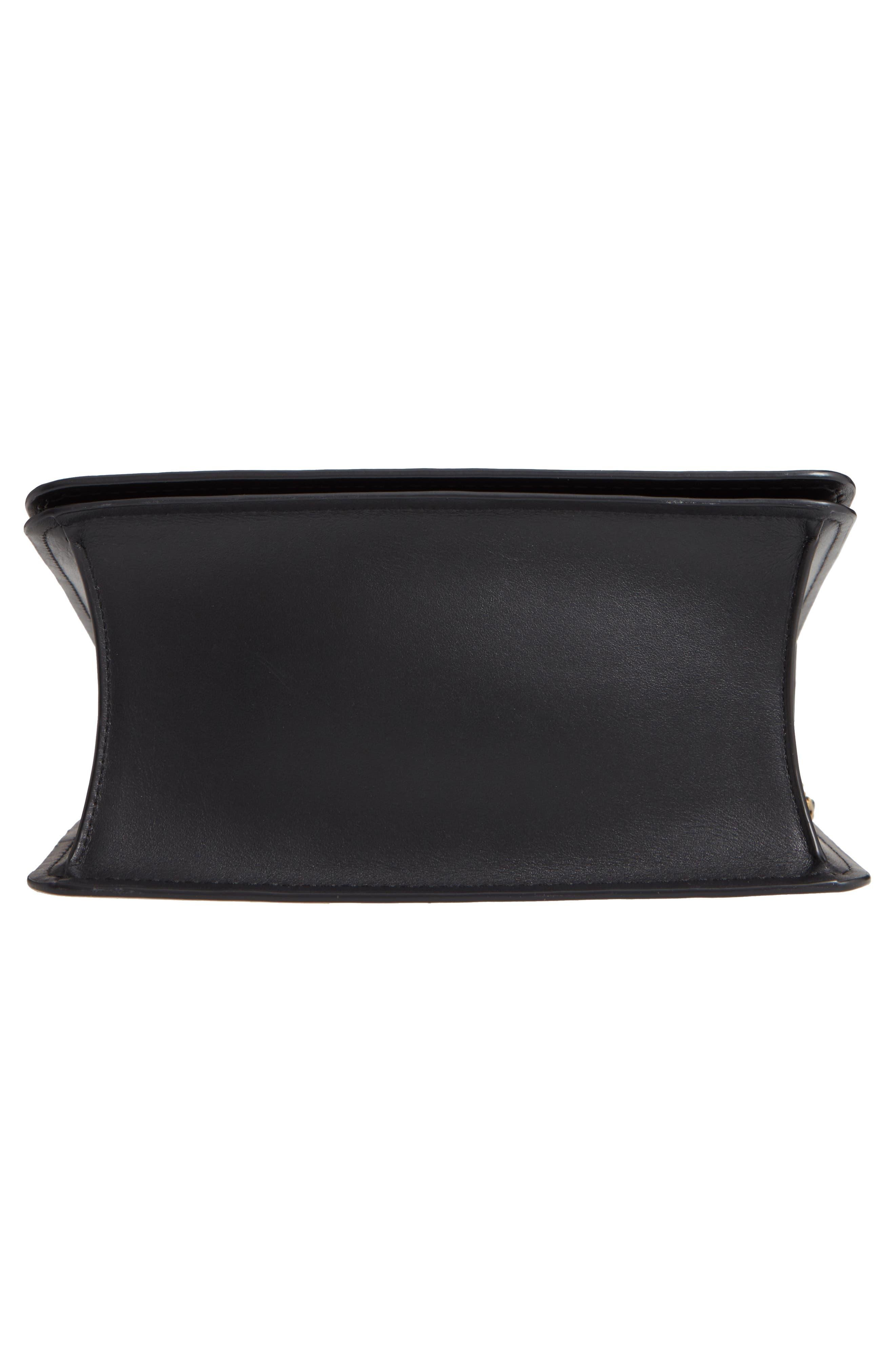 COACH,                             Parker Signature Canvas & Leather Top Handle Shoulder Bag,                             Alternate thumbnail 6, color,                             B4/ BLACK