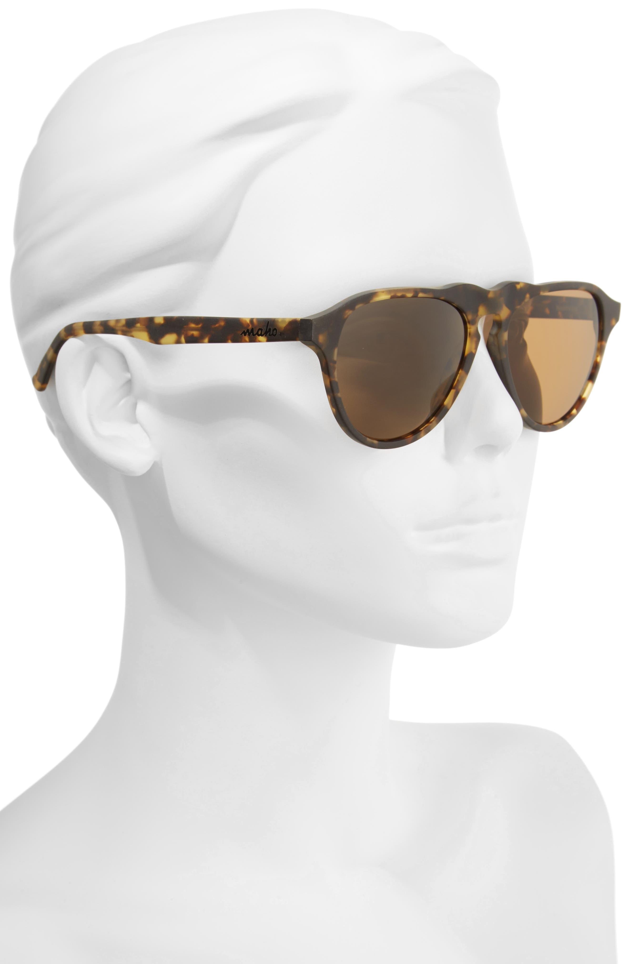 Nashville 54mm Polarized Aviator Sunglasses,                             Alternate thumbnail 2, color,                             BENGAL