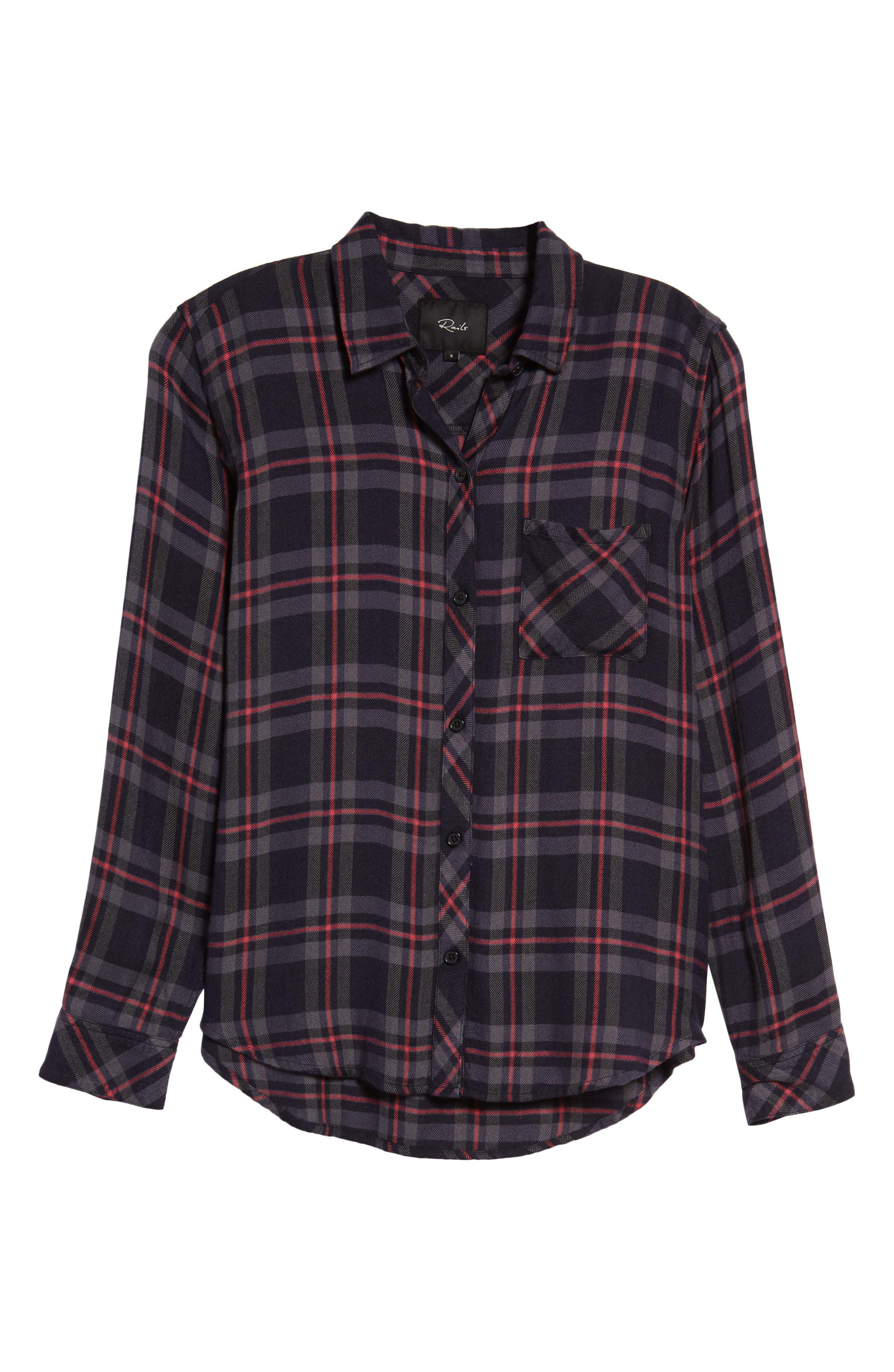 Hunter Plaid Shirt,                             Alternate thumbnail 694, color,