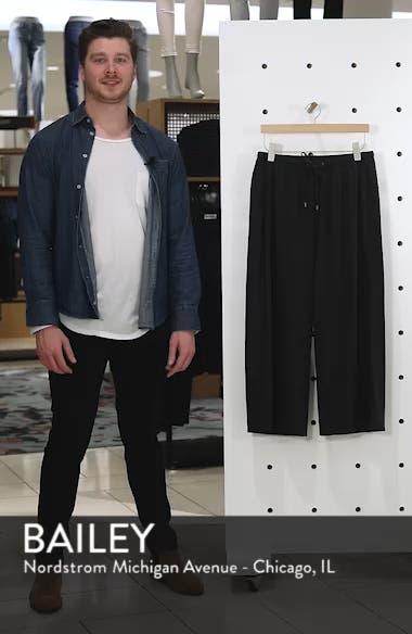 Silk Noil Wide Leg Pants, sales video thumbnail