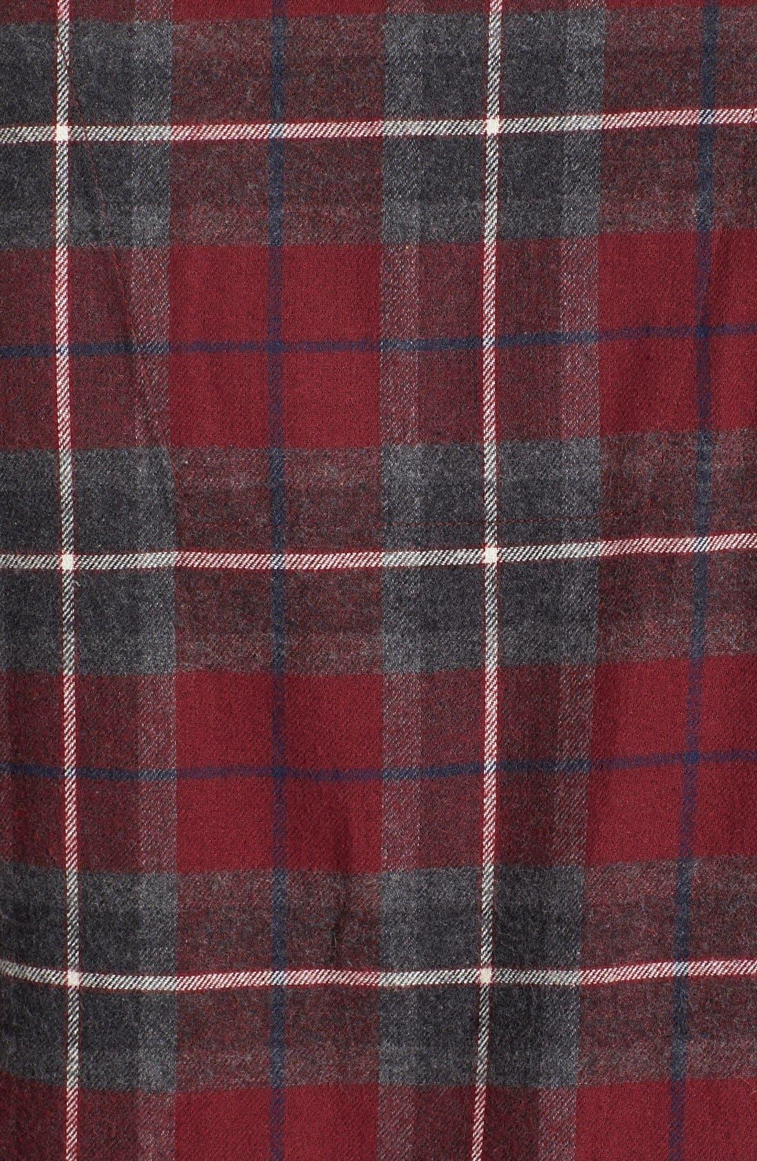 '824' Flannel Pajama Set,                             Alternate thumbnail 77, color,