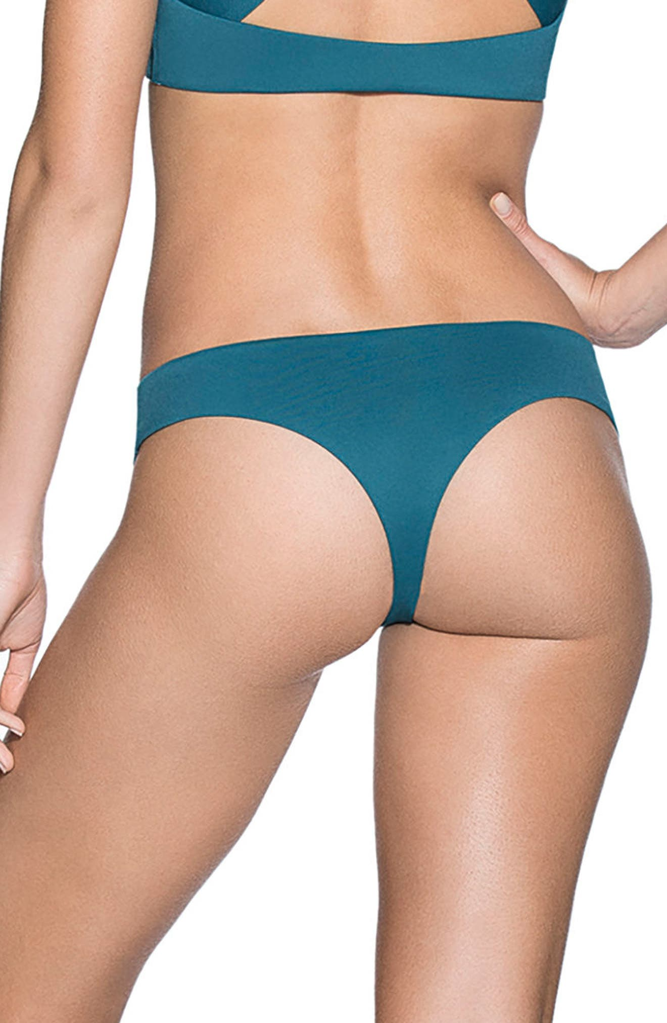 Everglade Sublime Signature Cut Reversible Bikini Bottoms,                             Alternate thumbnail 3, color,