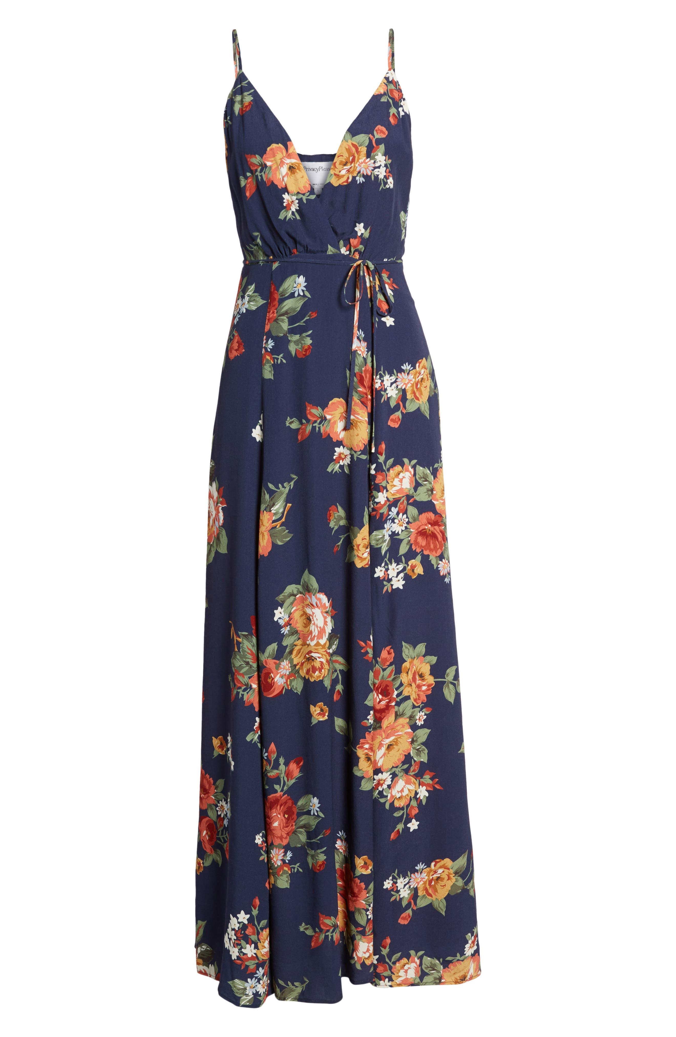 Crenshaw Maxi Dress,                             Alternate thumbnail 6, color,                             400