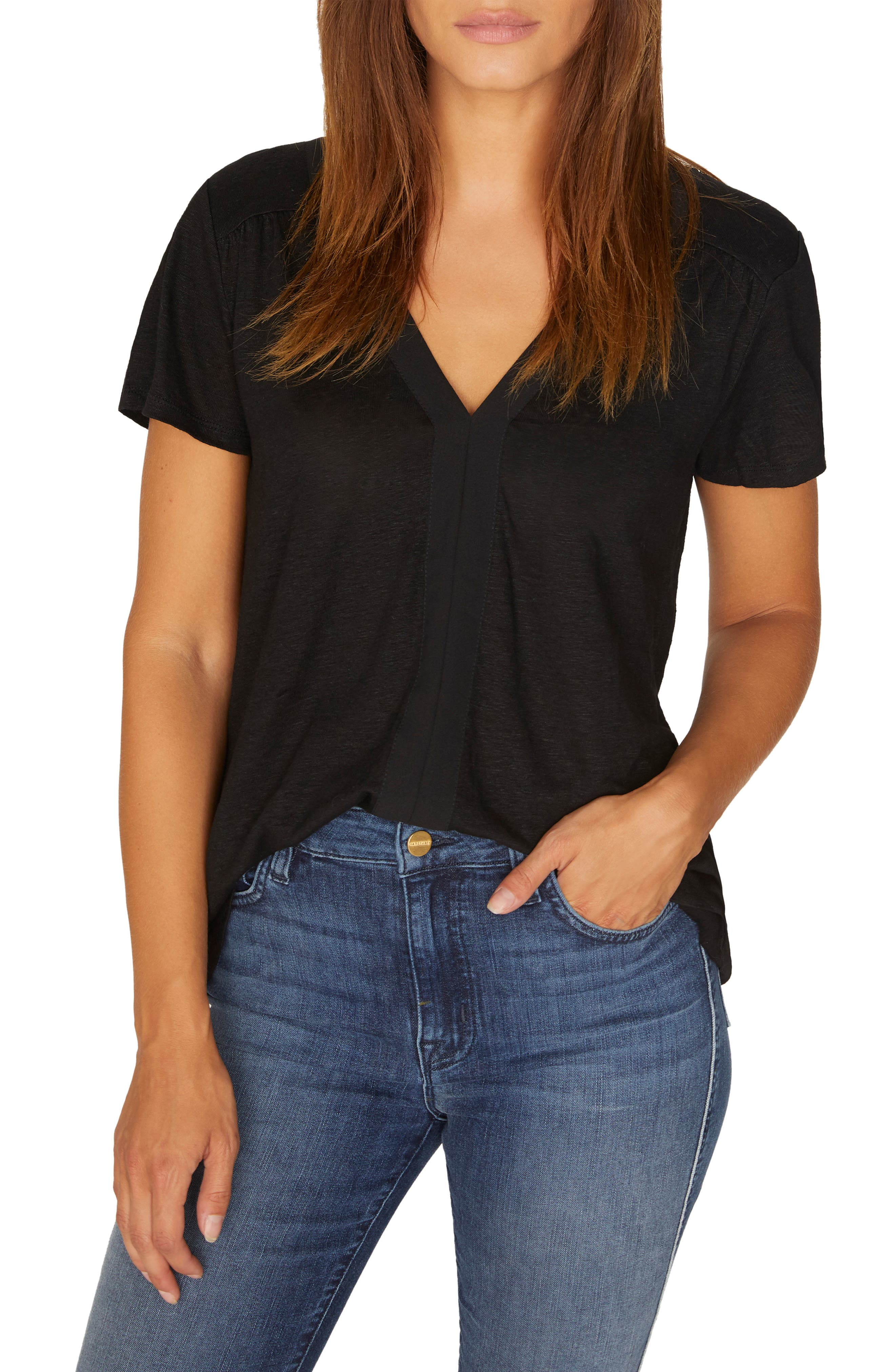 Countryside Remix Tee,                         Main,                         color, BLACK