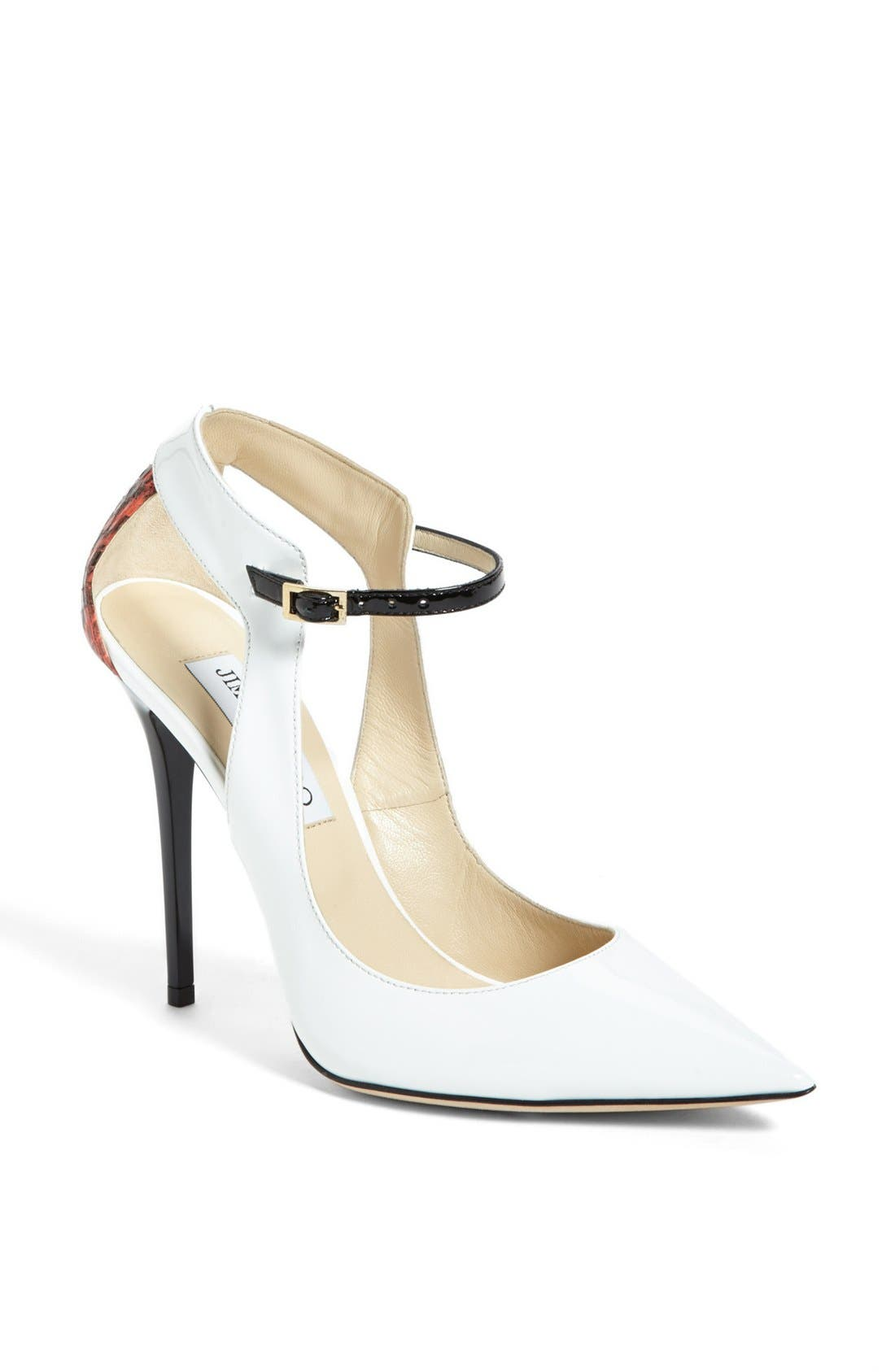 'Maiden' Pointy Toe Pump,                         Main,                         color, 100