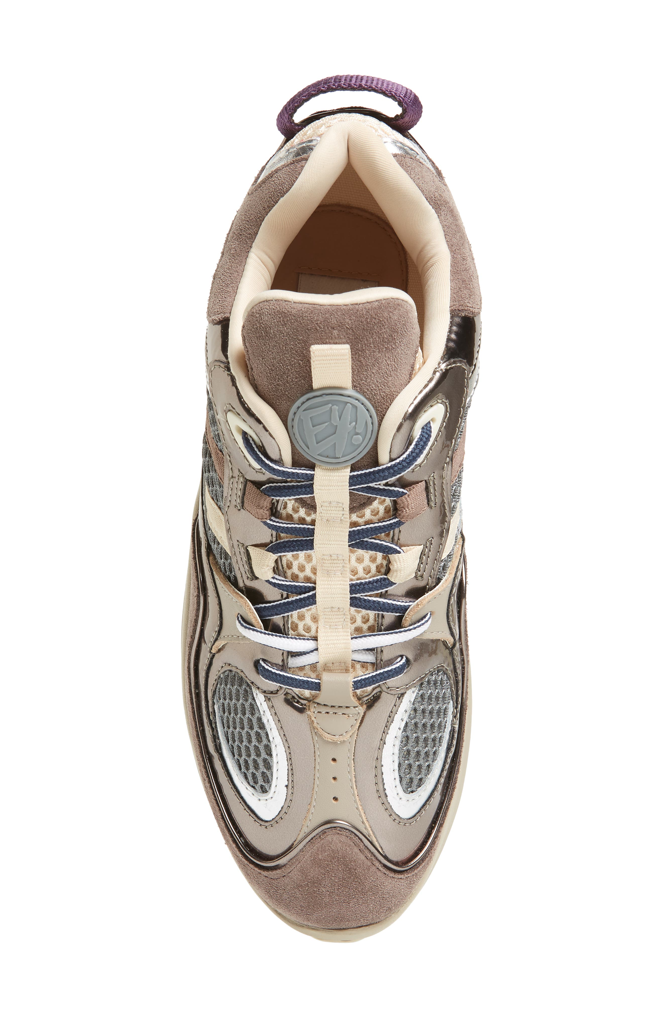 Jet Turbo Flatform Sneaker,                             Alternate thumbnail 5, color,                             060