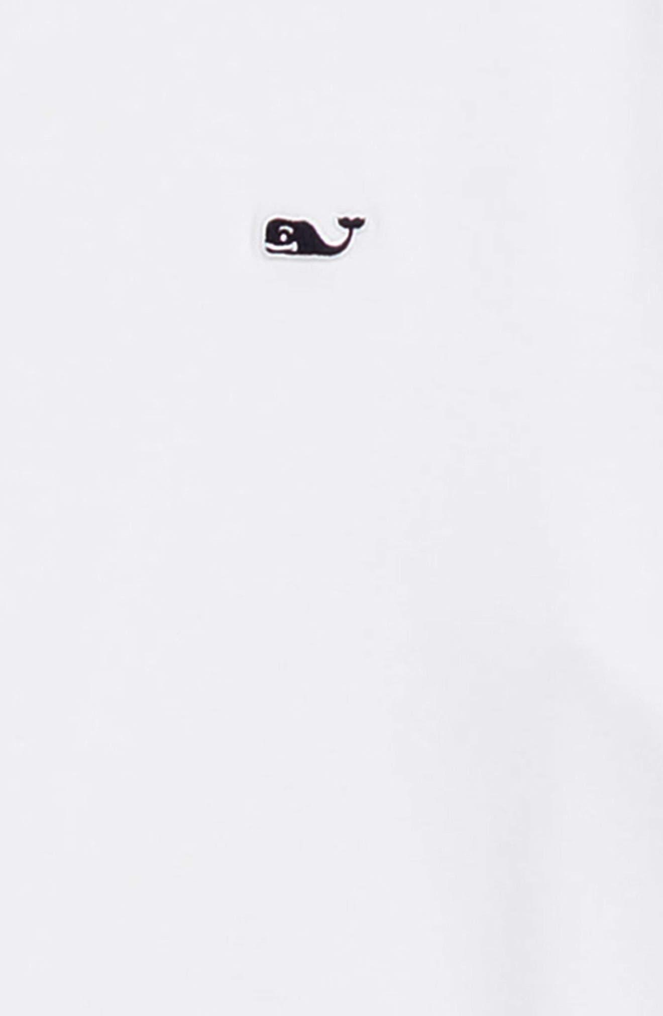 Edgartown Long Sleeve Polo,                             Alternate thumbnail 2, color,                             WHITE CAP