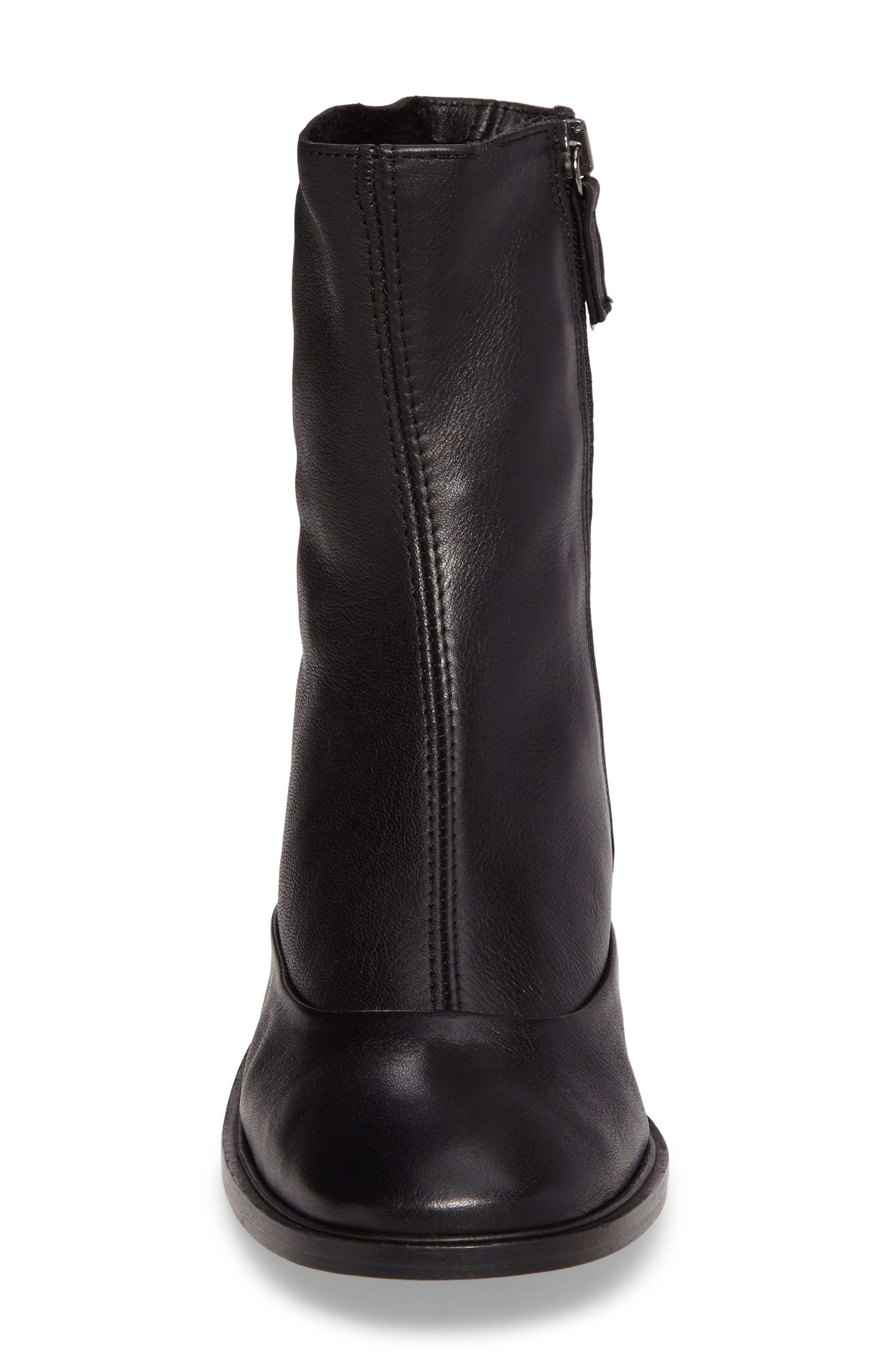 April Sock Boots,                             Alternate thumbnail 4, color,                             001