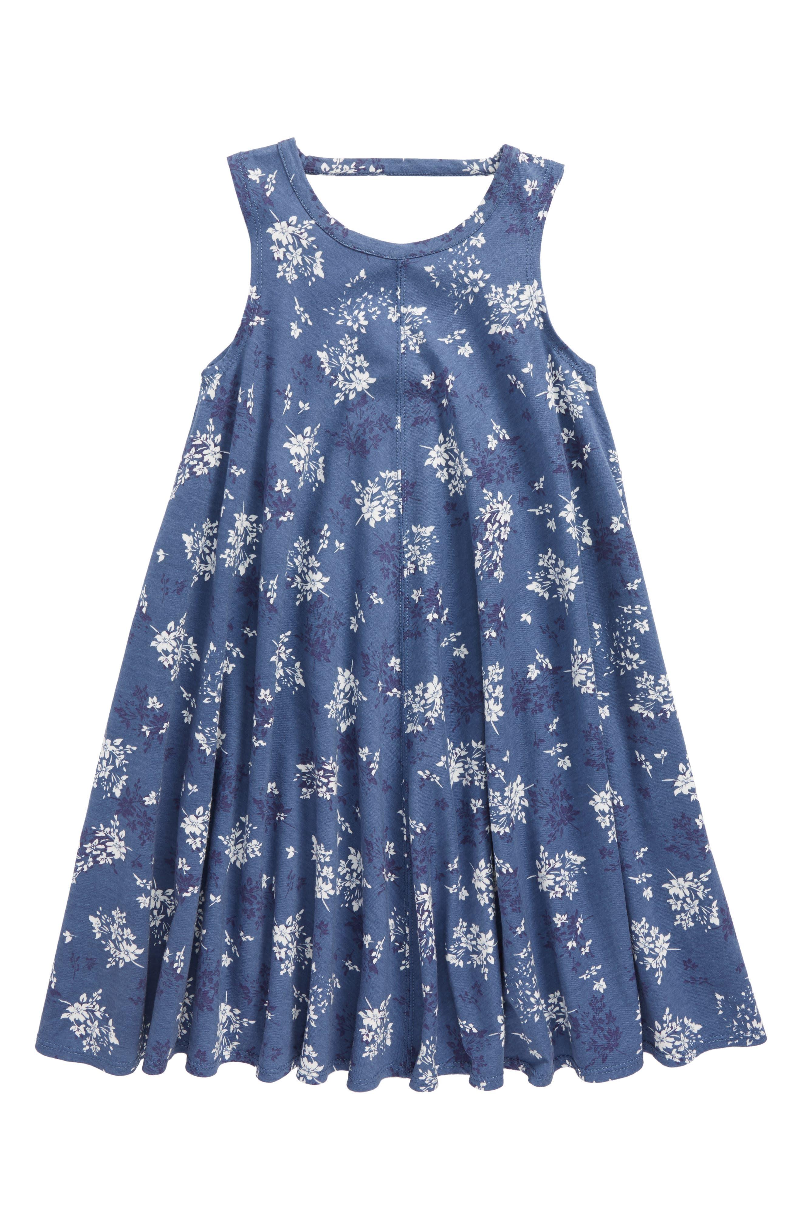 Cotton Swing Dress,                             Main thumbnail 1, color,                             420