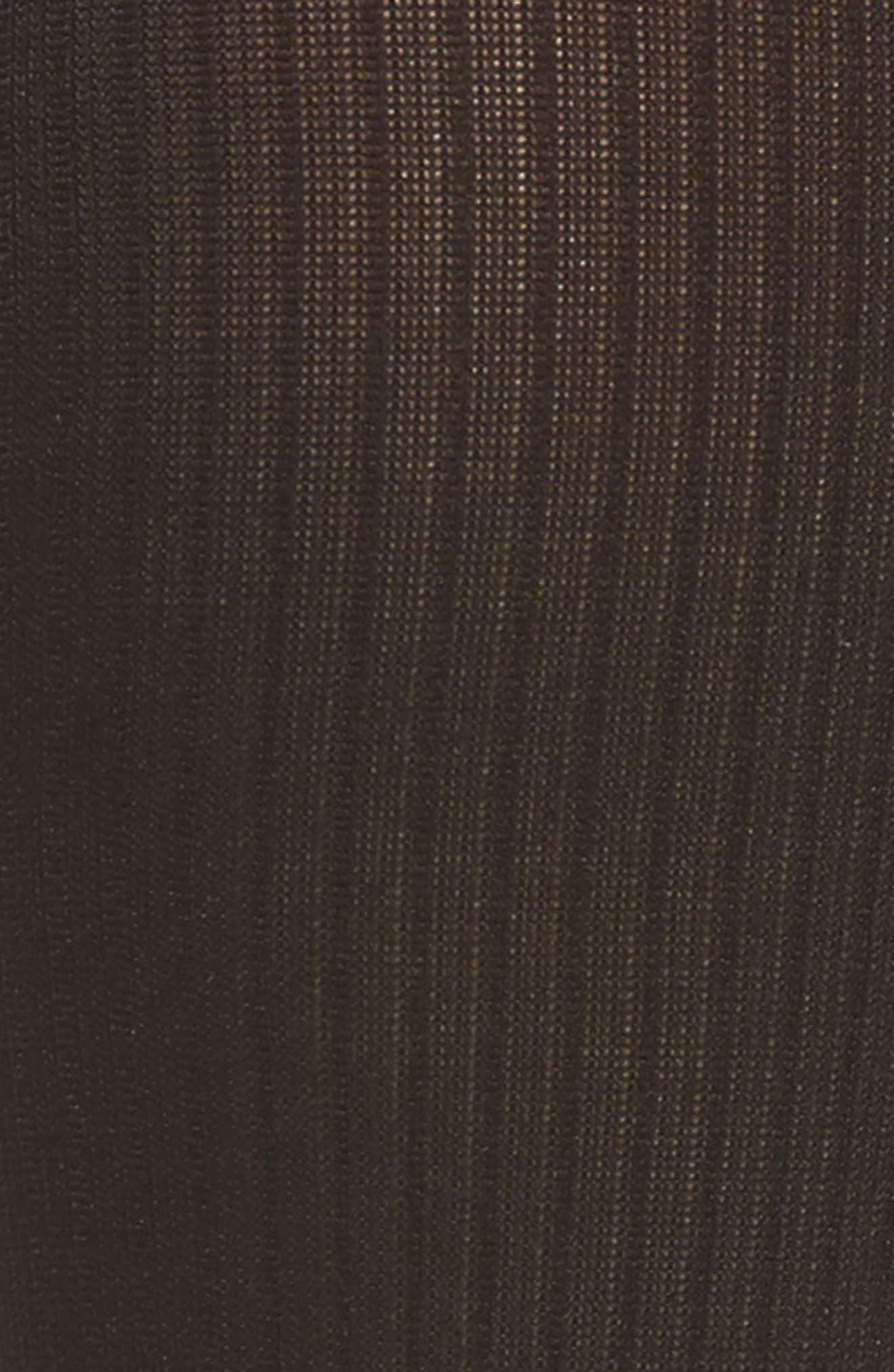 Ribbed Compression Trouser Socks,                             Alternate thumbnail 2, color,                             BLACK