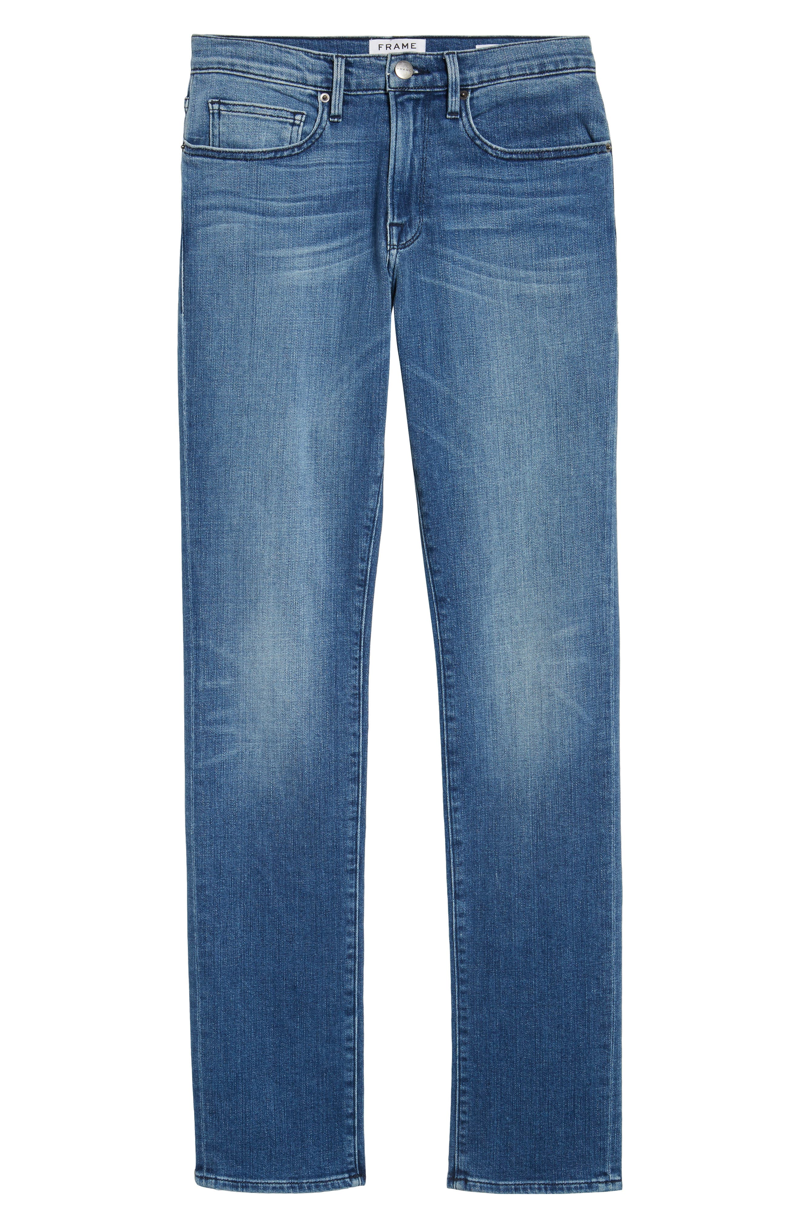 L'Homme Slim Fit Jeans,                             Alternate thumbnail 6, color,                             BRADBURY