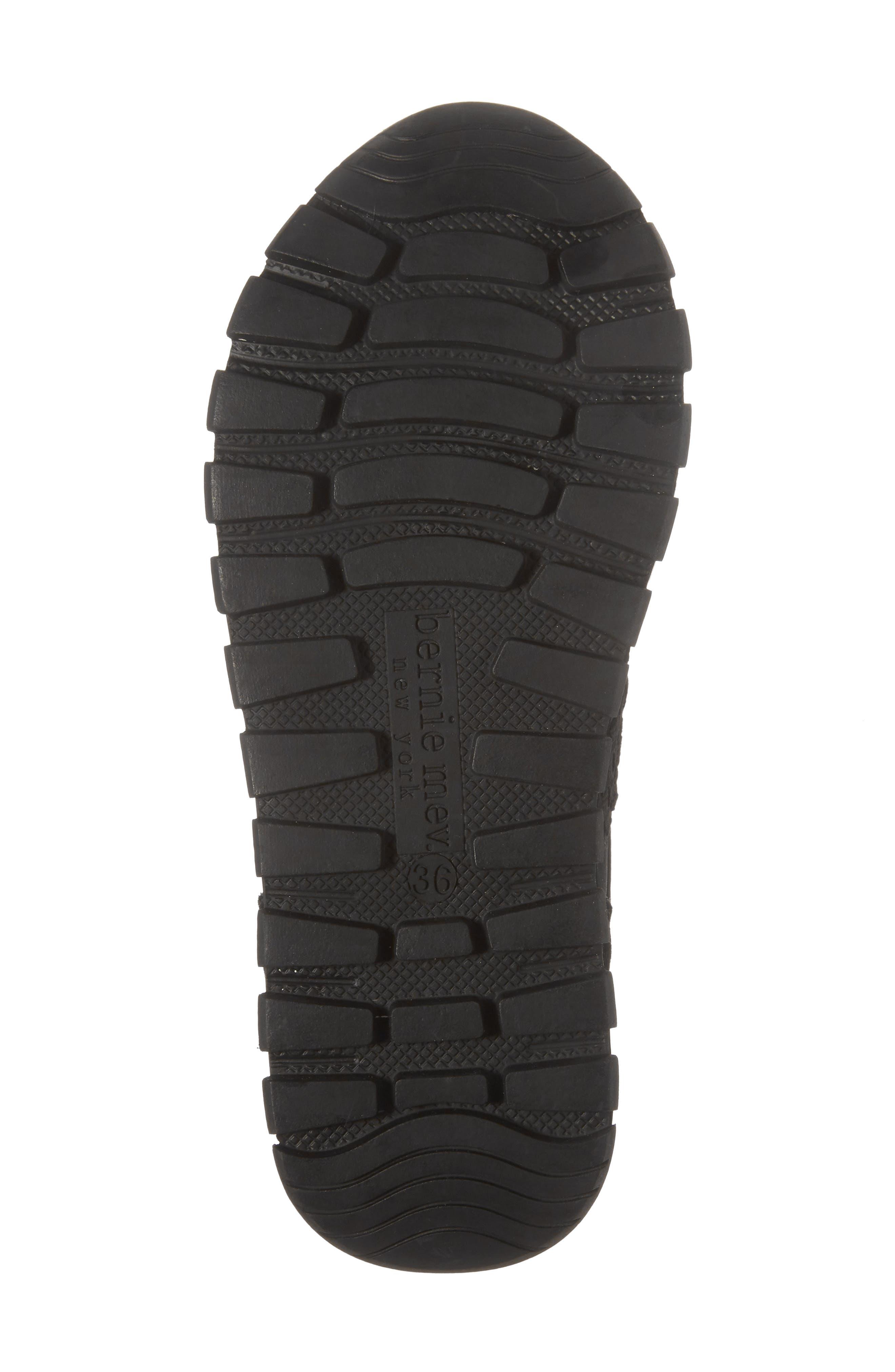 Bernie Mev Janelle Sneaker,                             Alternate thumbnail 6, color,                             BLACK FABRIC