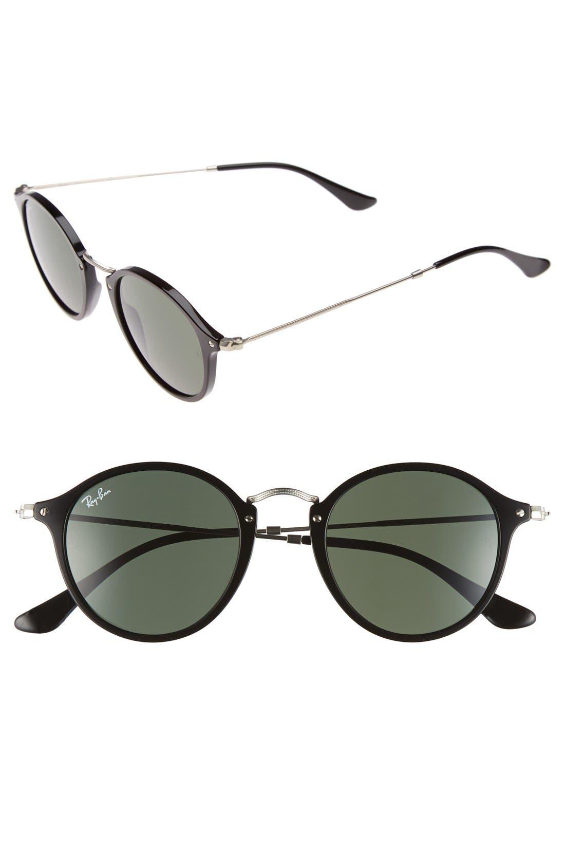 Ray-Ban 4m Retro Sunglasses - Black/ Green