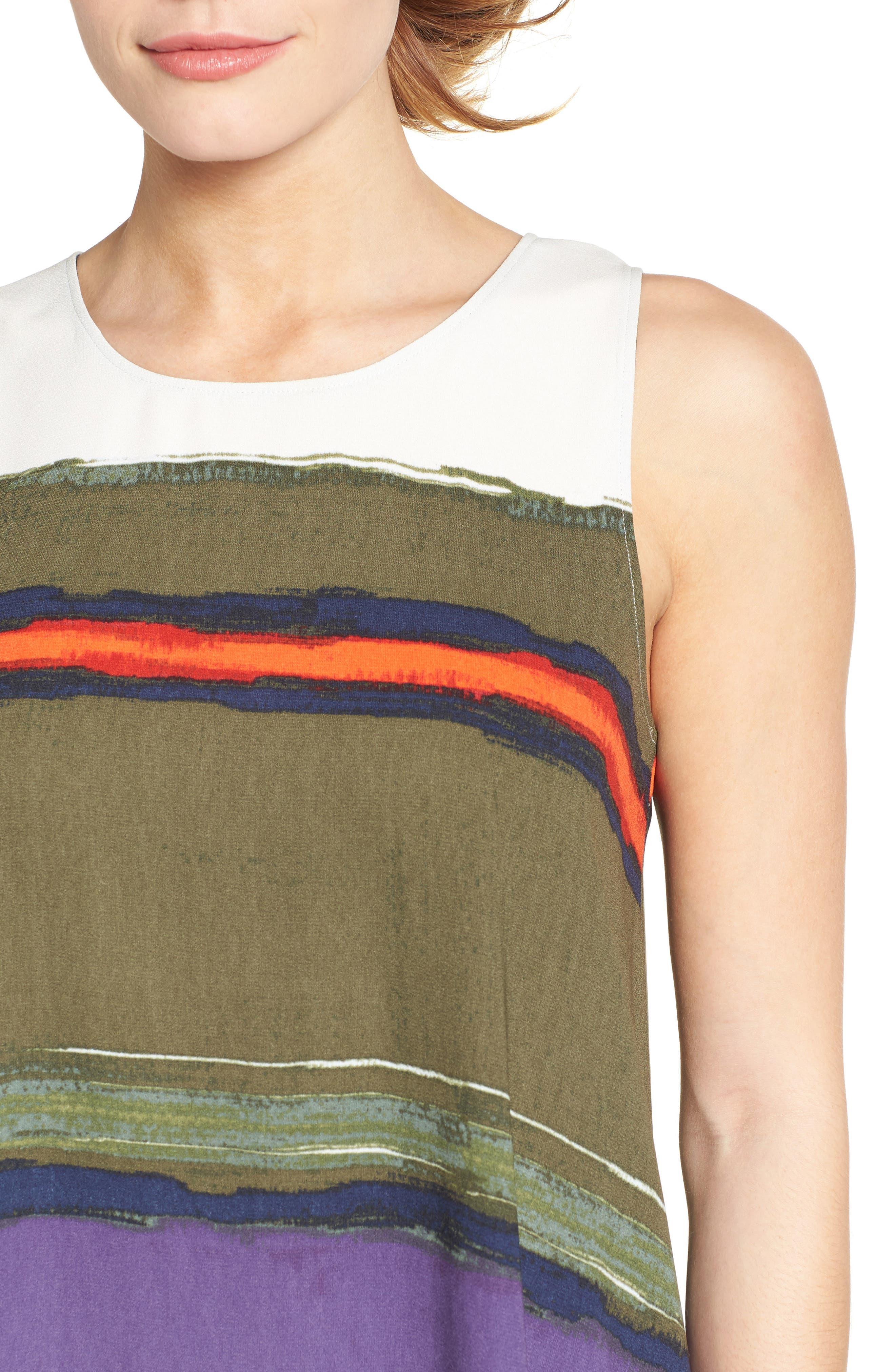 A-Line Dress,                             Alternate thumbnail 109, color,