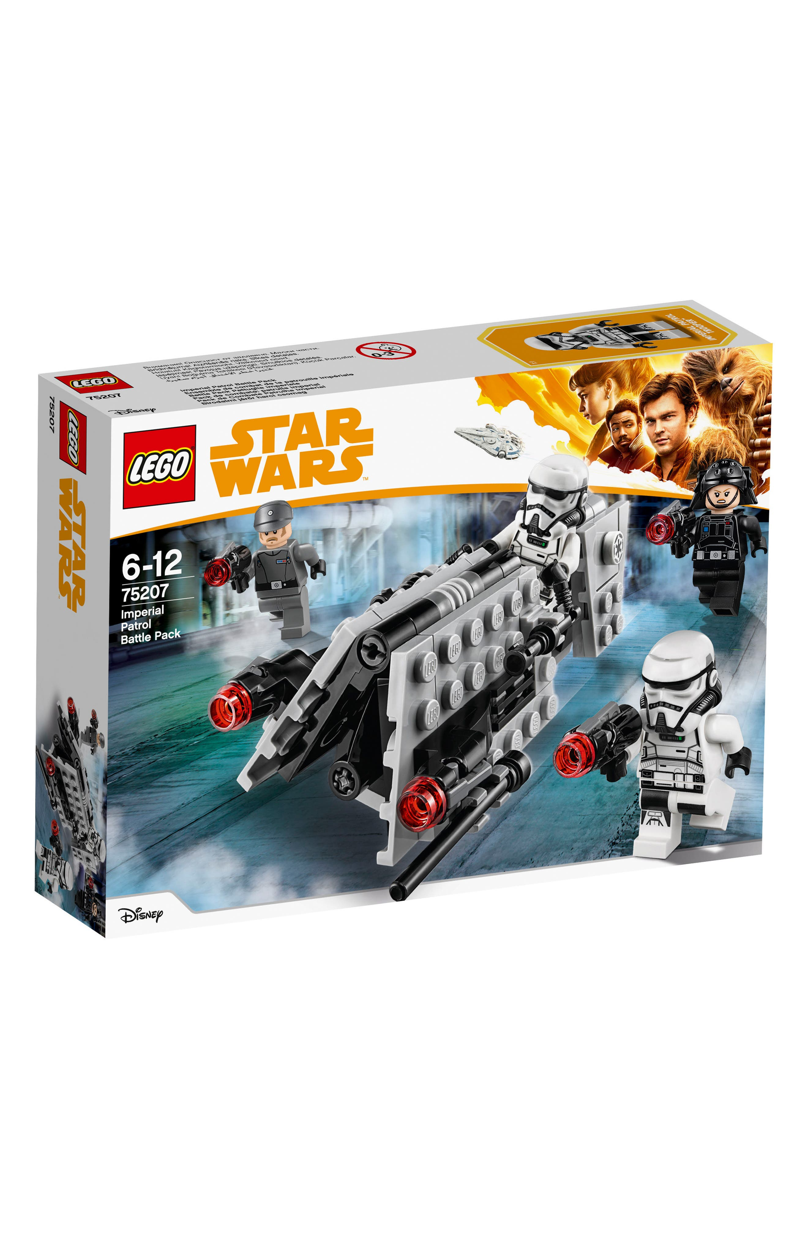 Star Wars<sup>®</sup> Imperial Patrol Battle Pack - 75207,                             Main thumbnail 1, color,                             020